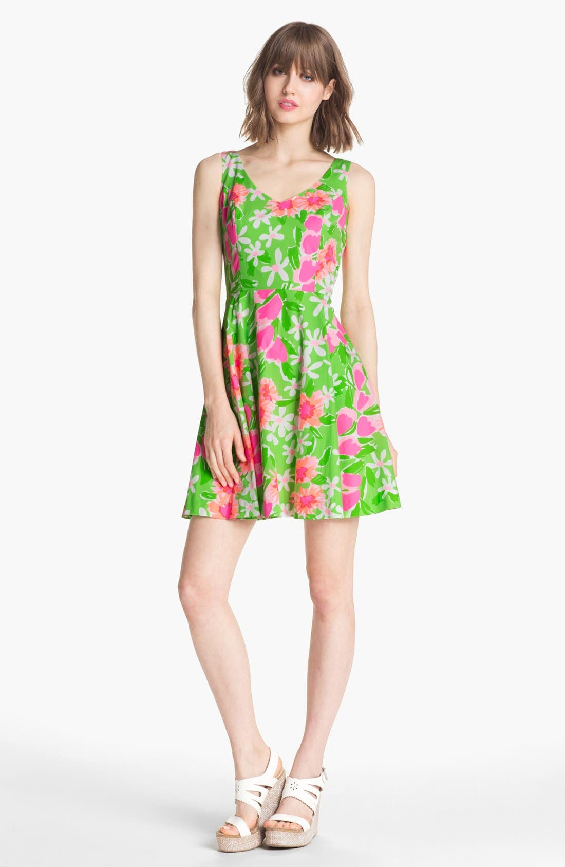 Alternate Image 1 Selected - Lilly Pulitzer® 'Freja' Print Fit & Flare Dress