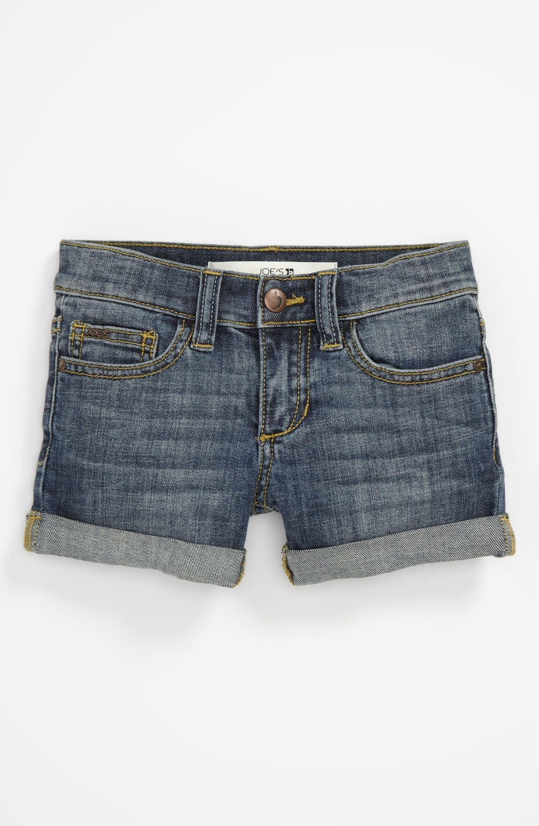 Alternate Image 2  - Joe's 'New Rolled Mini' Denim Shorts (Toddler Girls)