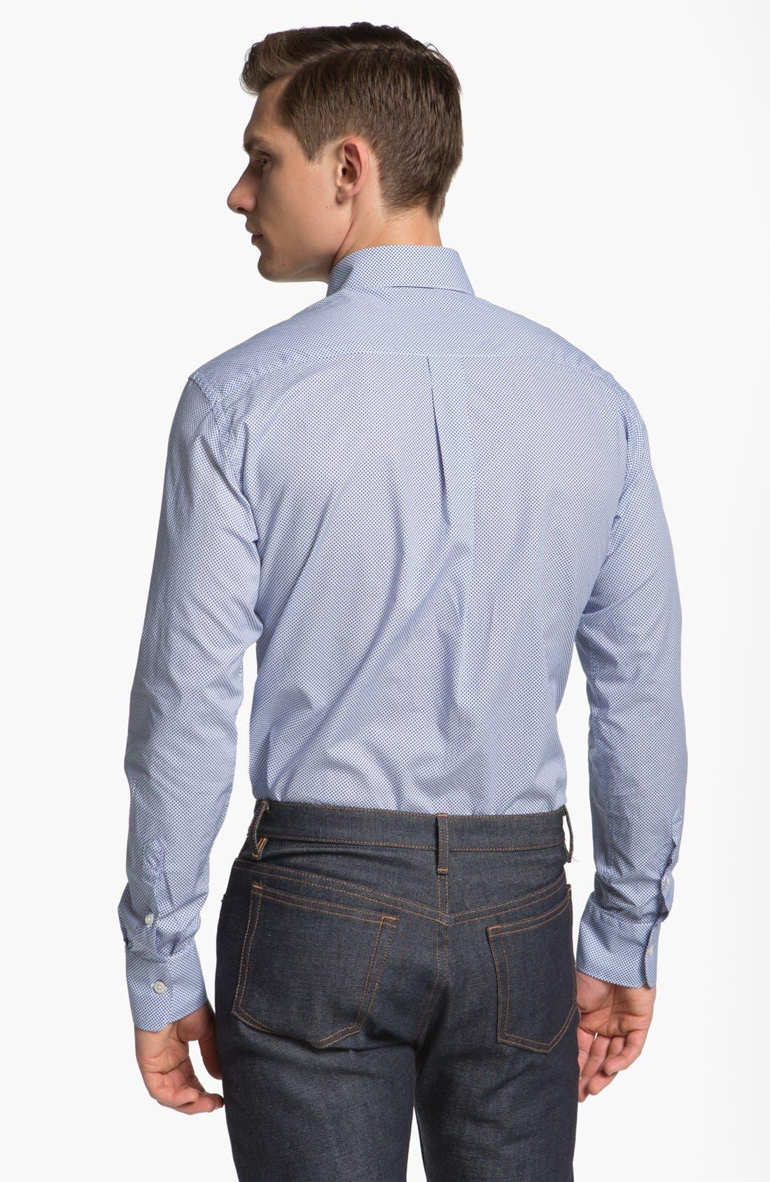 Alternate Image 2  - Canali Sport Shirt