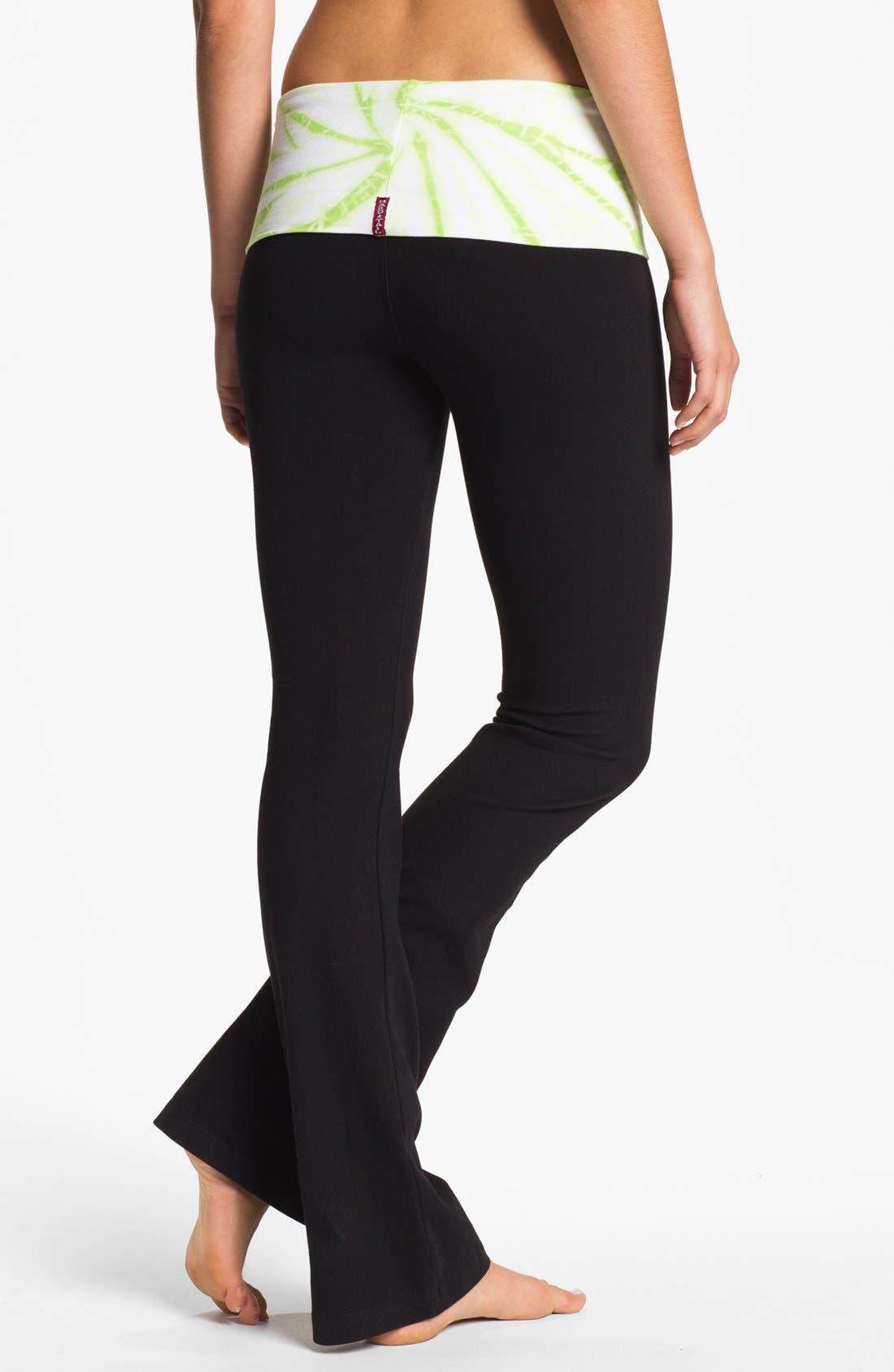 Alternate Image 2  - Hard Tail Contour Roll Waist Pants