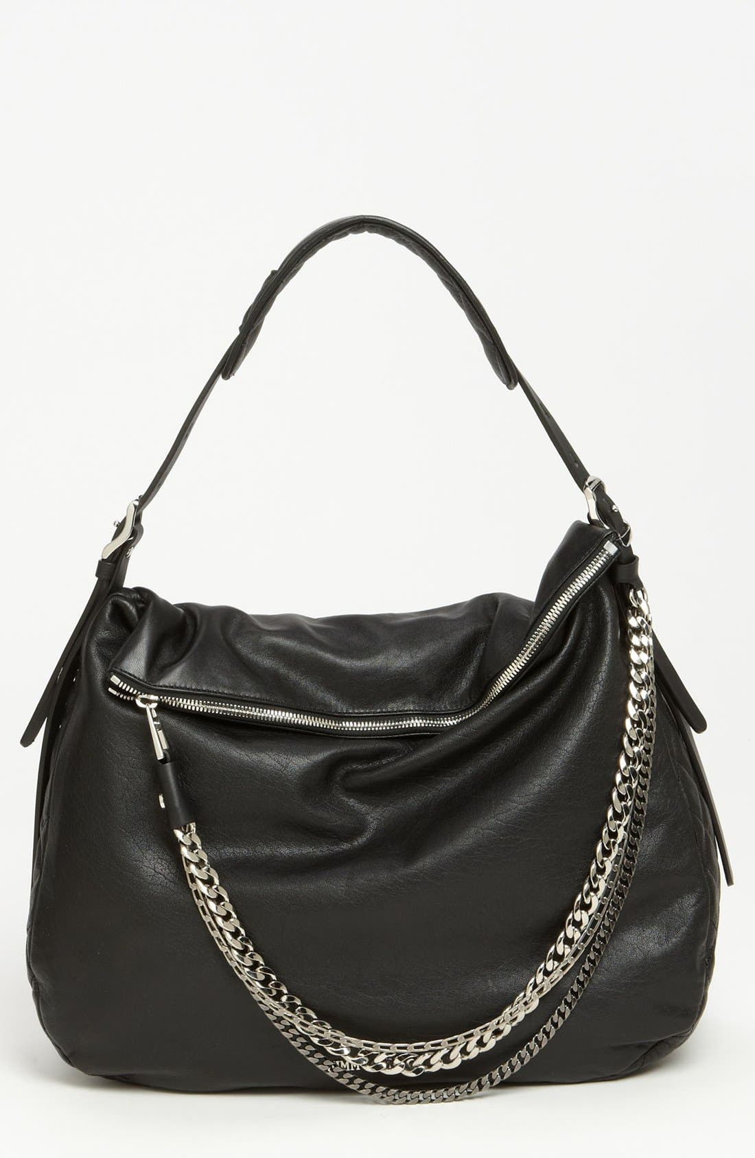 Alternate Image 1 Selected - Jimmy Choo 'Large Boho' Leather Hobo