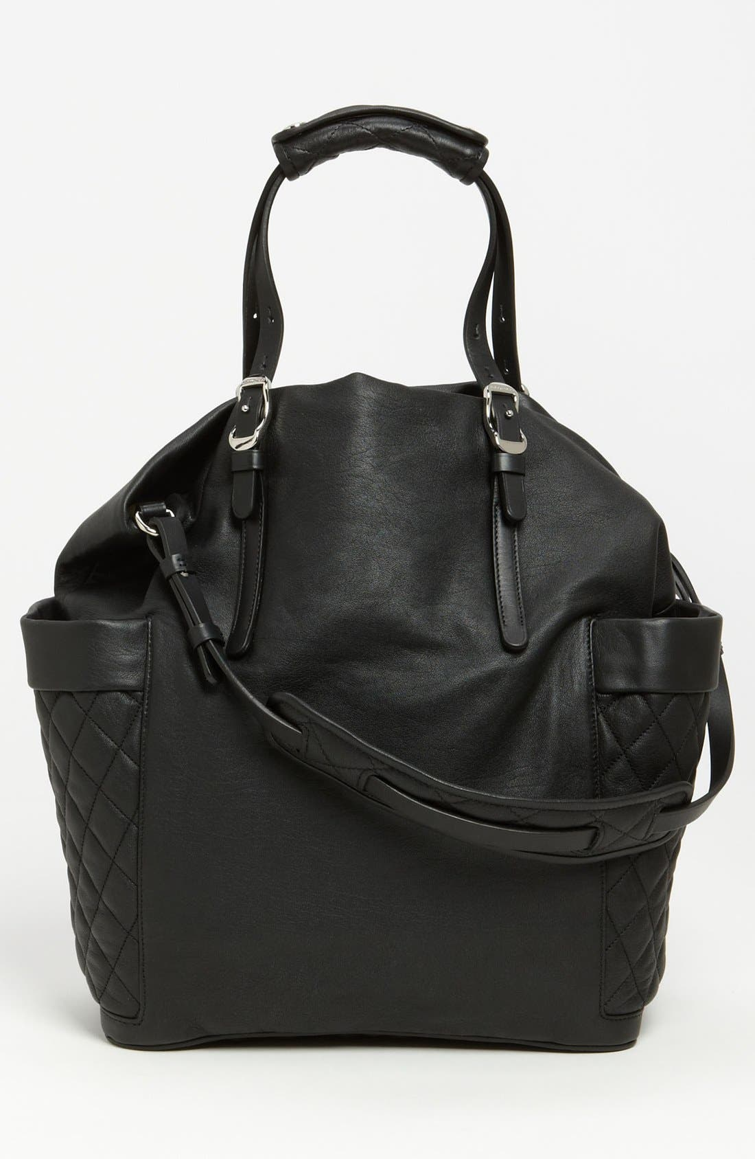Alternate Image 4  - Jimmy Choo 'Blare' Leather Tote