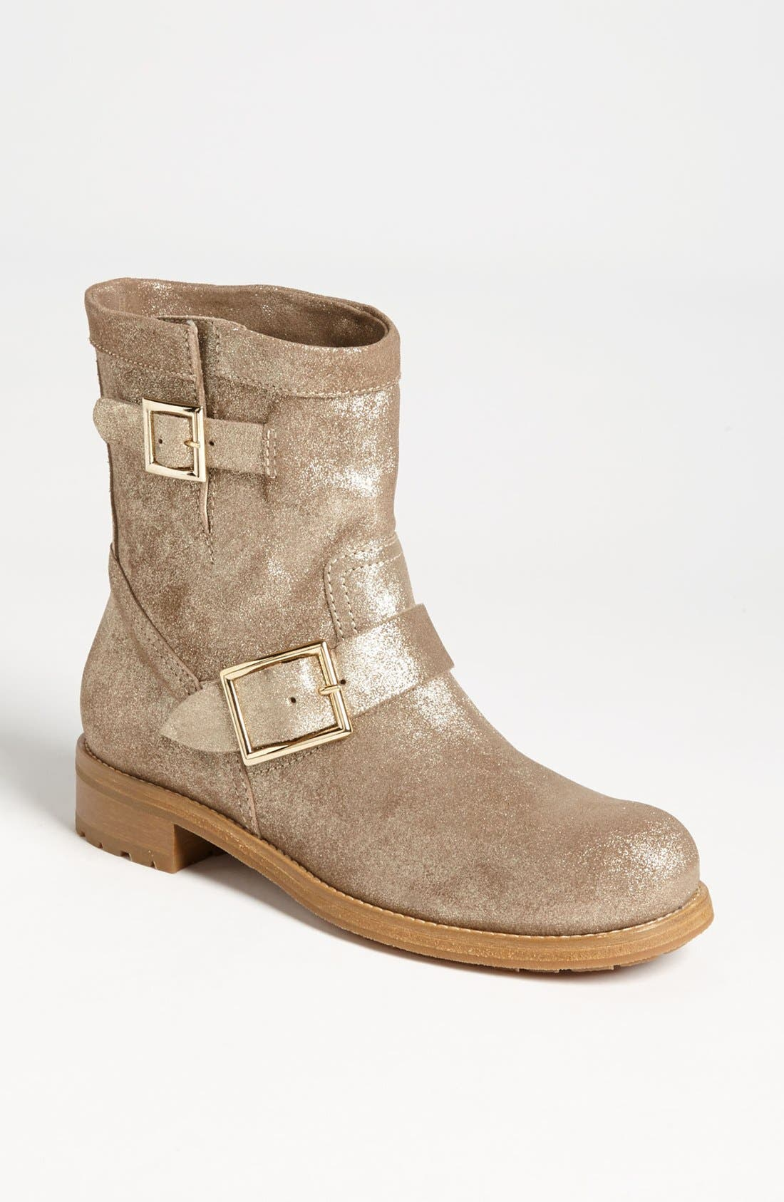 Alternate Image 1 Selected - Jimmy Choo 'Youth' Biker Boot
