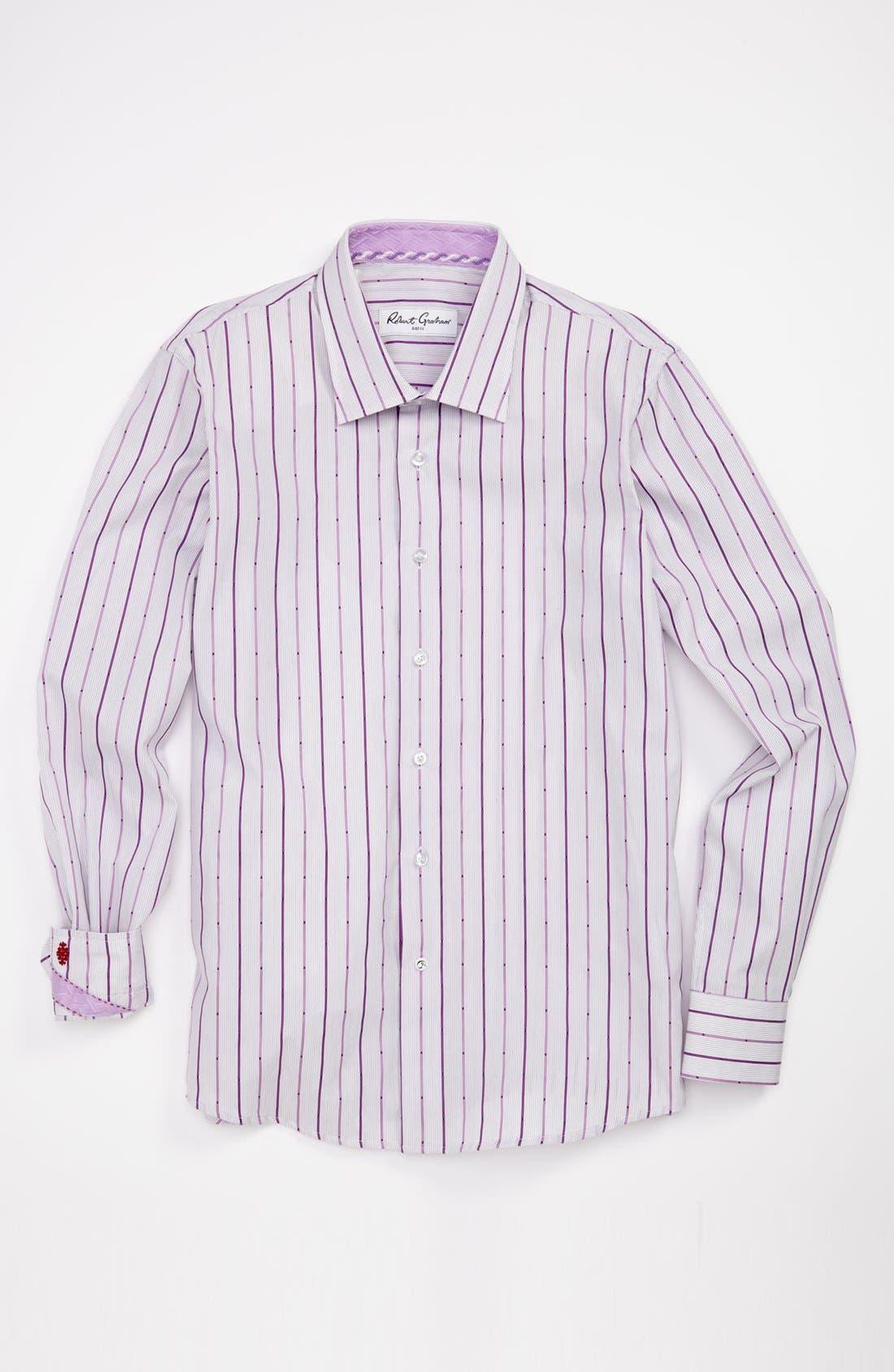 Main Image - Robert Graham Dress Shirt (Big Boys)