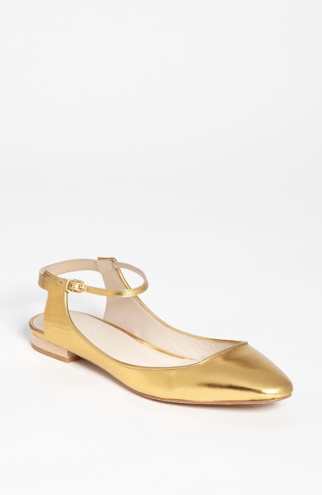 Main Image - Chloé Ankle Strap Flat