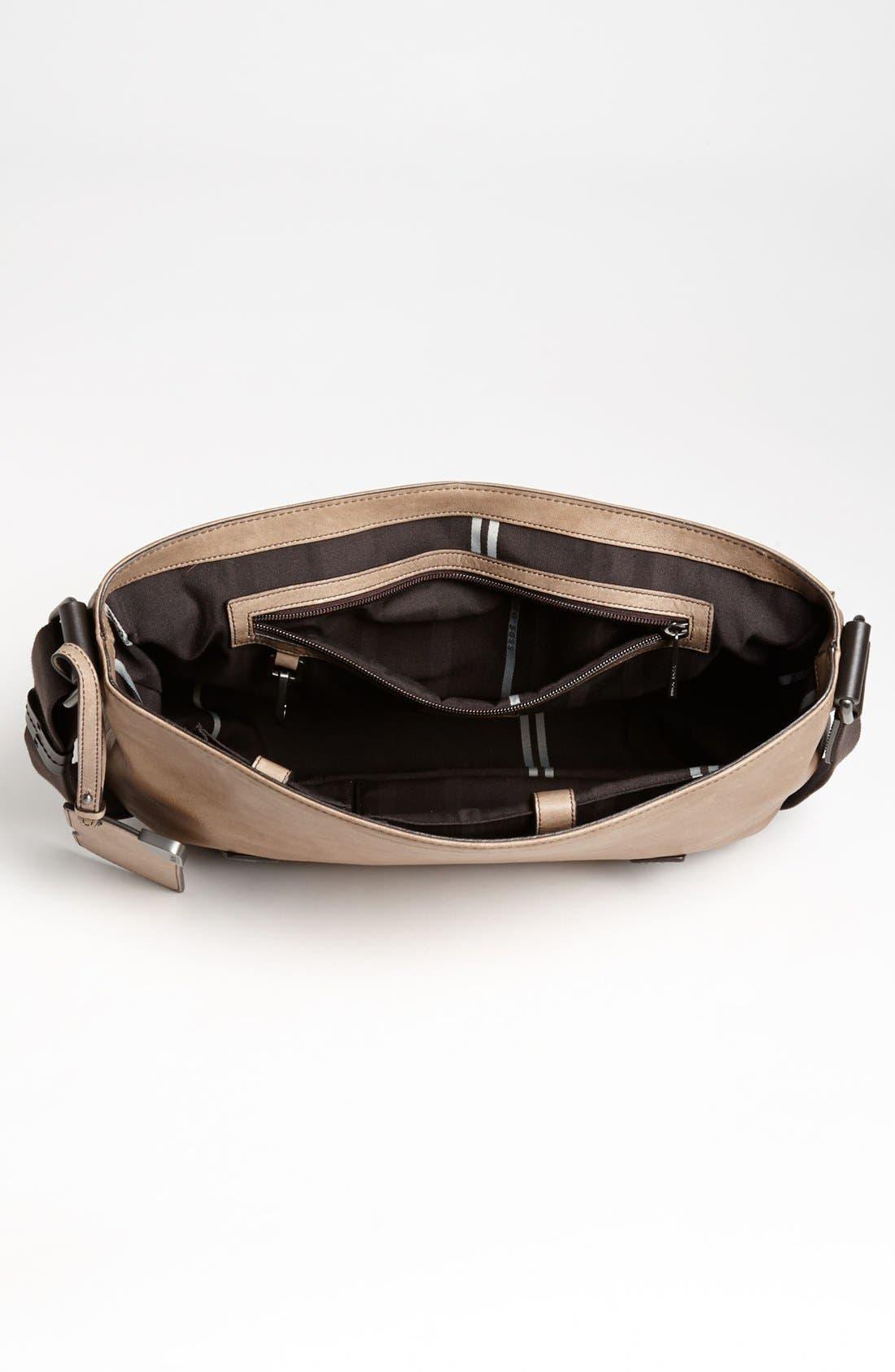 Alternate Image 3  - BOSS Black 'Rotin' Messenger Bag