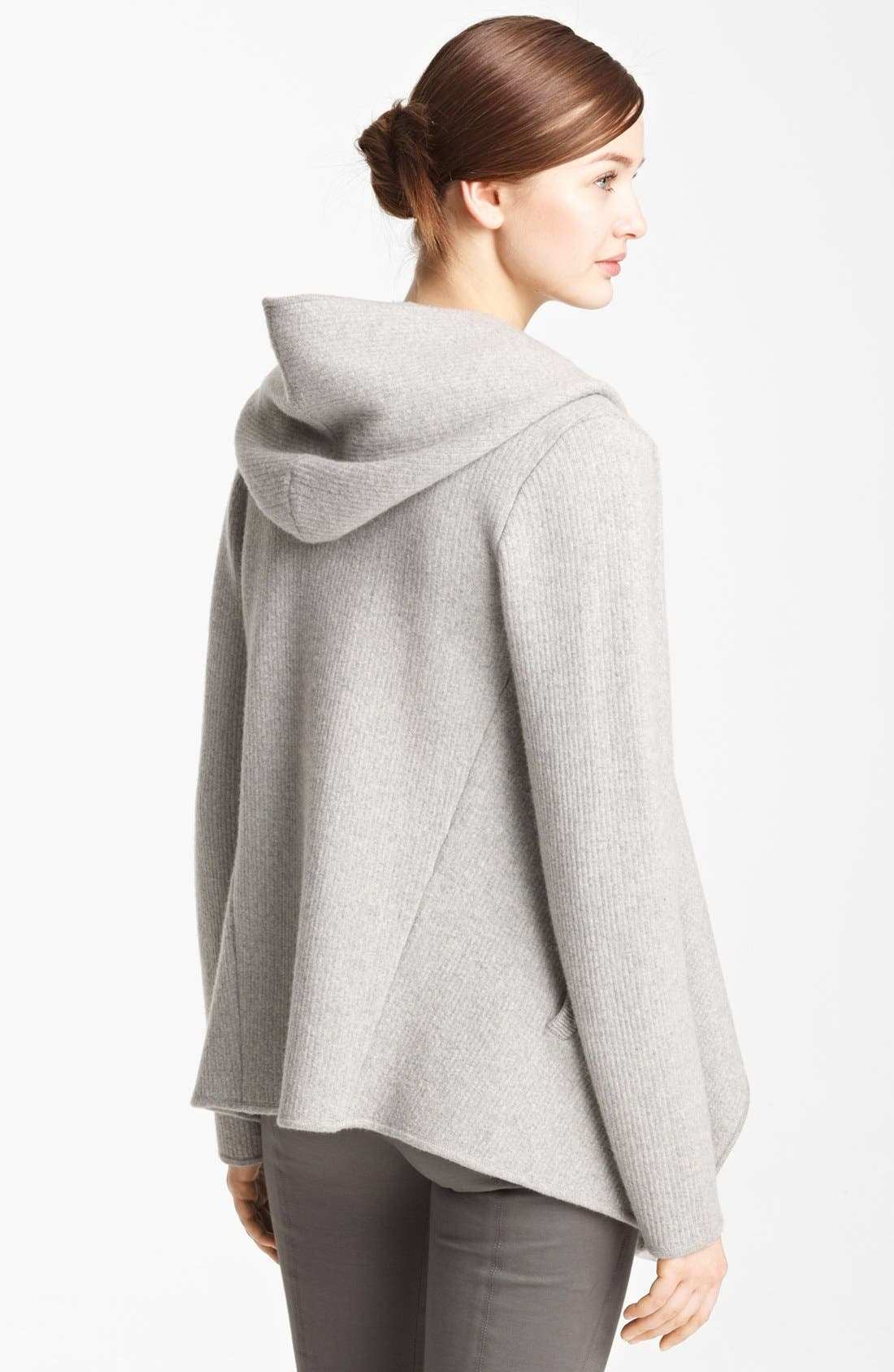Alternate Image 4  - Donna Karan Collection Hooded Cashmere Cozy