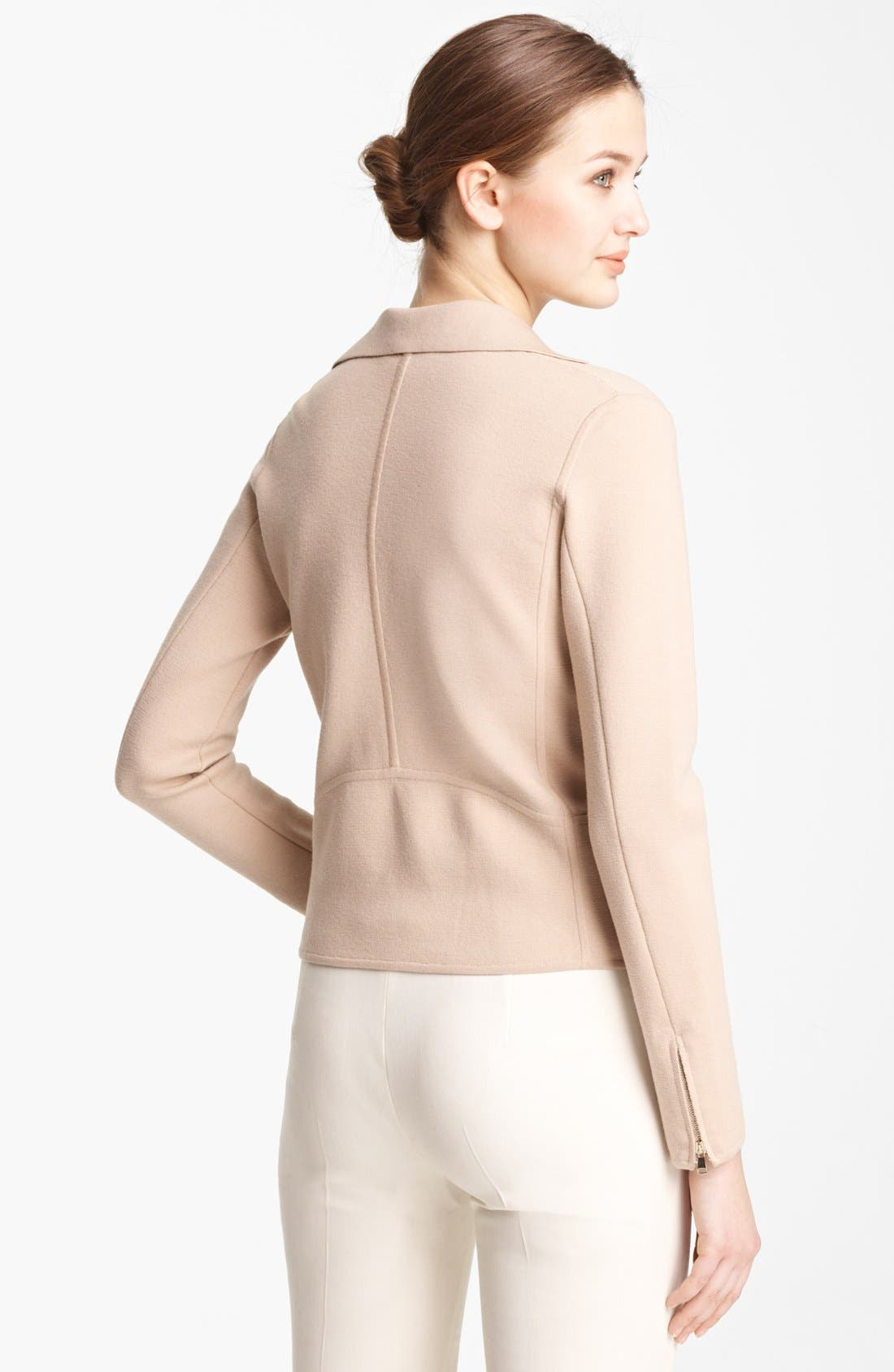 Alternate Image 2  - Max Mara 'Bamby' Ribbed Wool Jacket