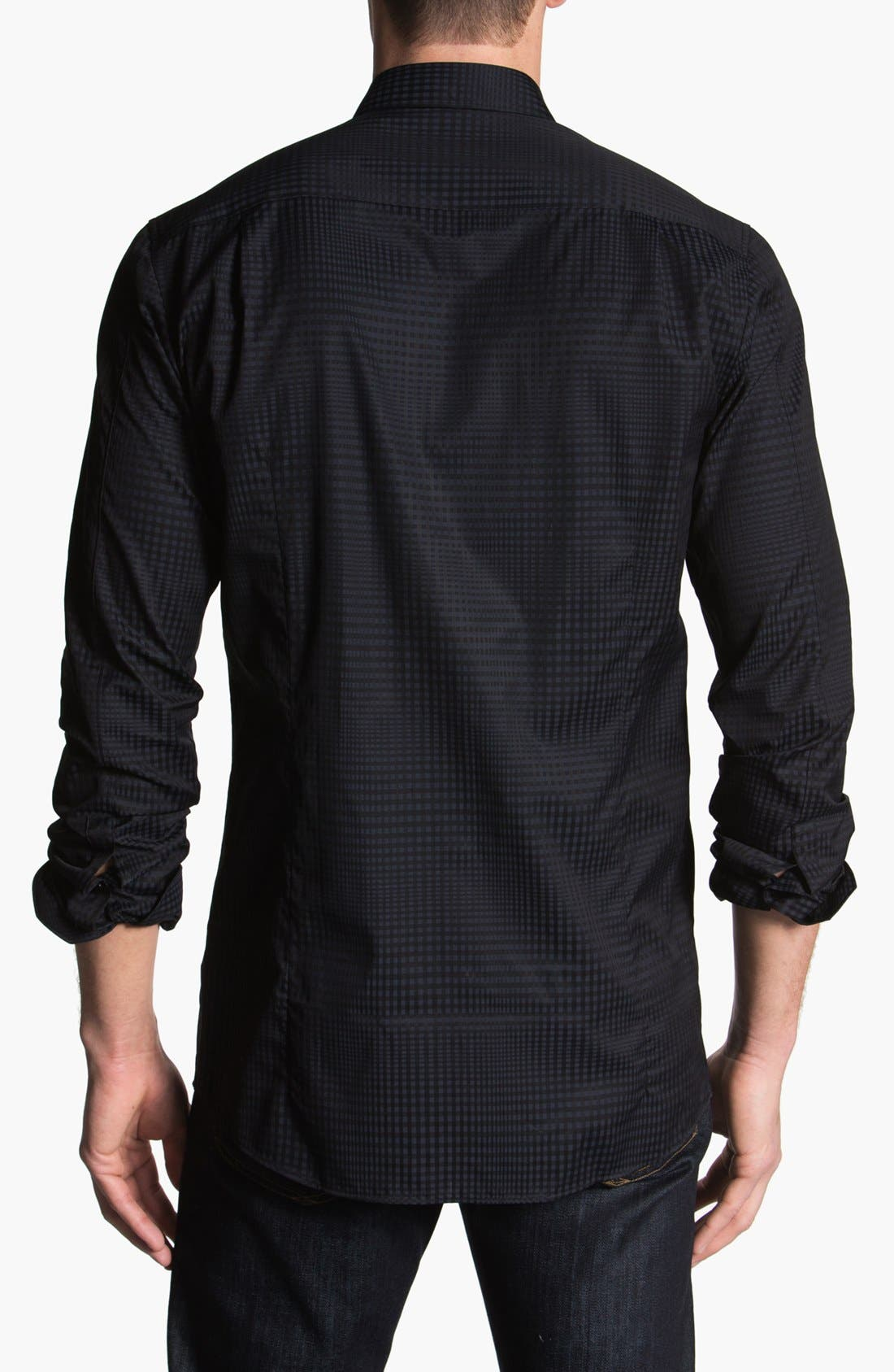 Alternate Image 2  - HUGO Trim Fit Sport Shirt