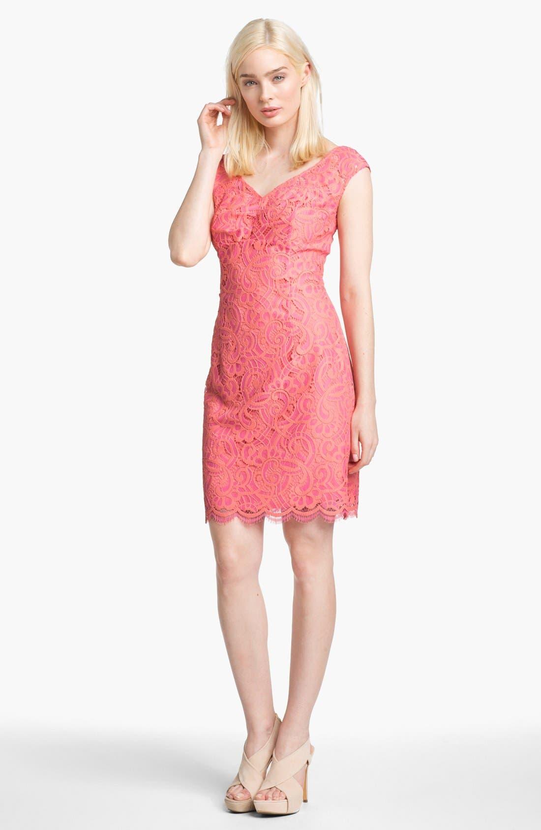 Alternate Image 1 Selected - Lilly Pulitzer® 'Rosaline' Lace Sheath Dress