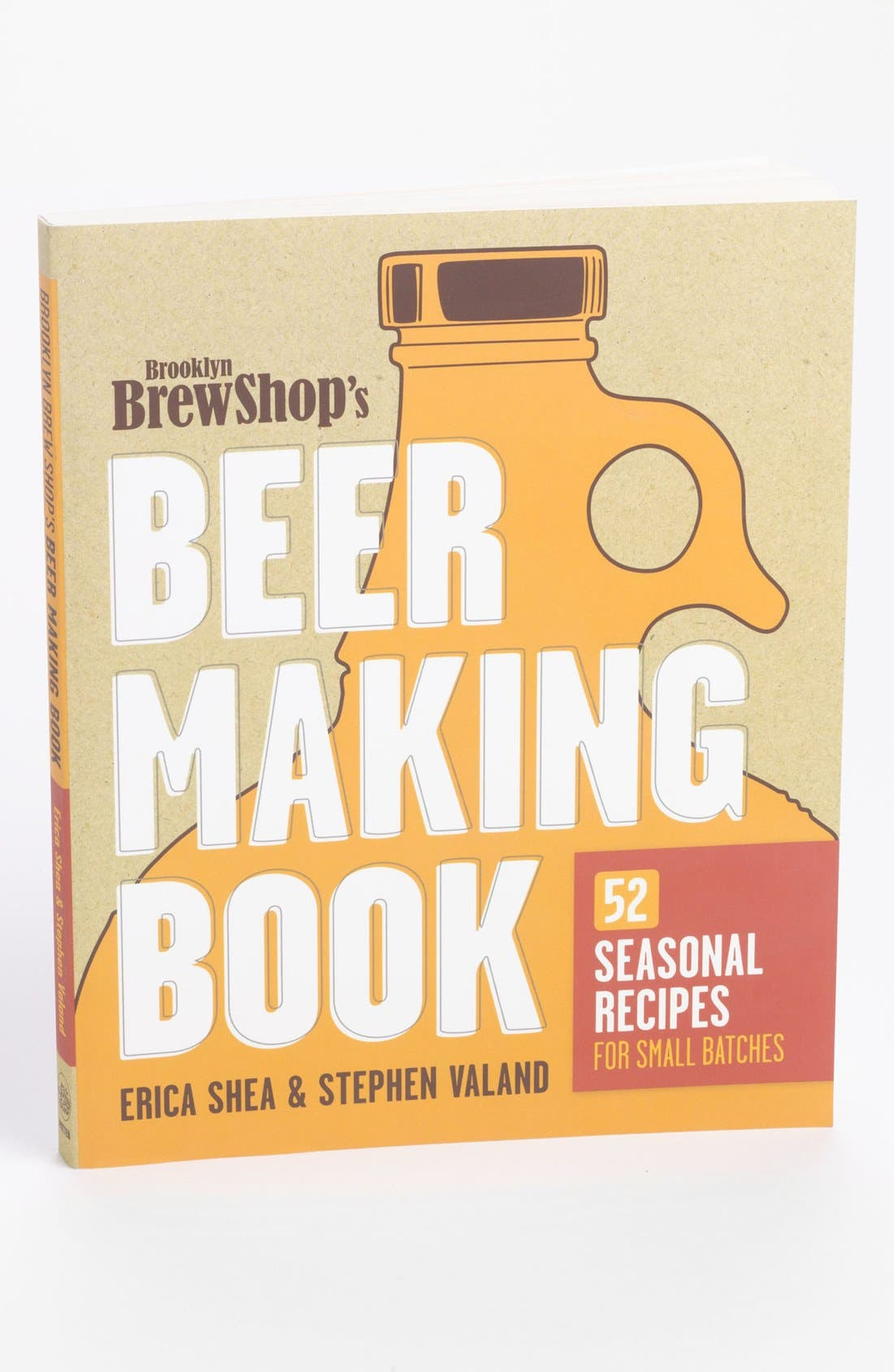 Alternate Image 1 Selected - 'Brooklyn Brew Shop's Beer Making Book' Recipe Book