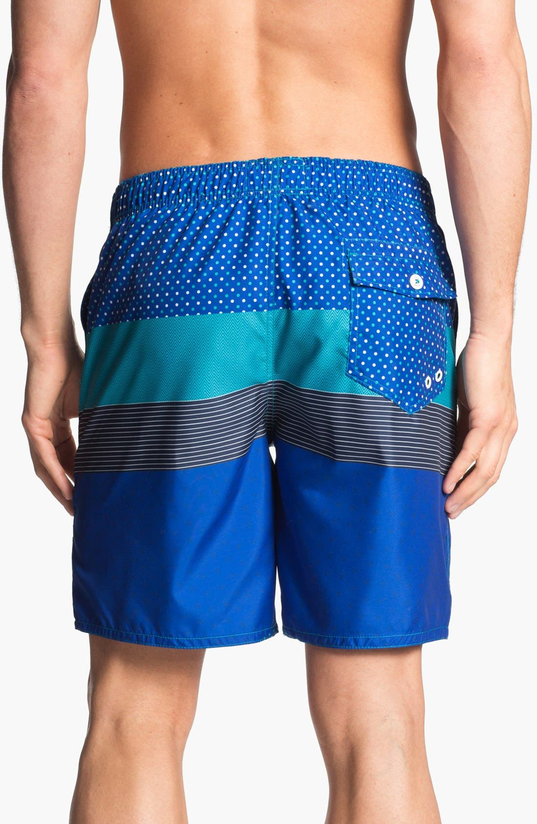 Alternate Image 2  - Ted Baker London 'Caballo Stripe' Swim Trunks