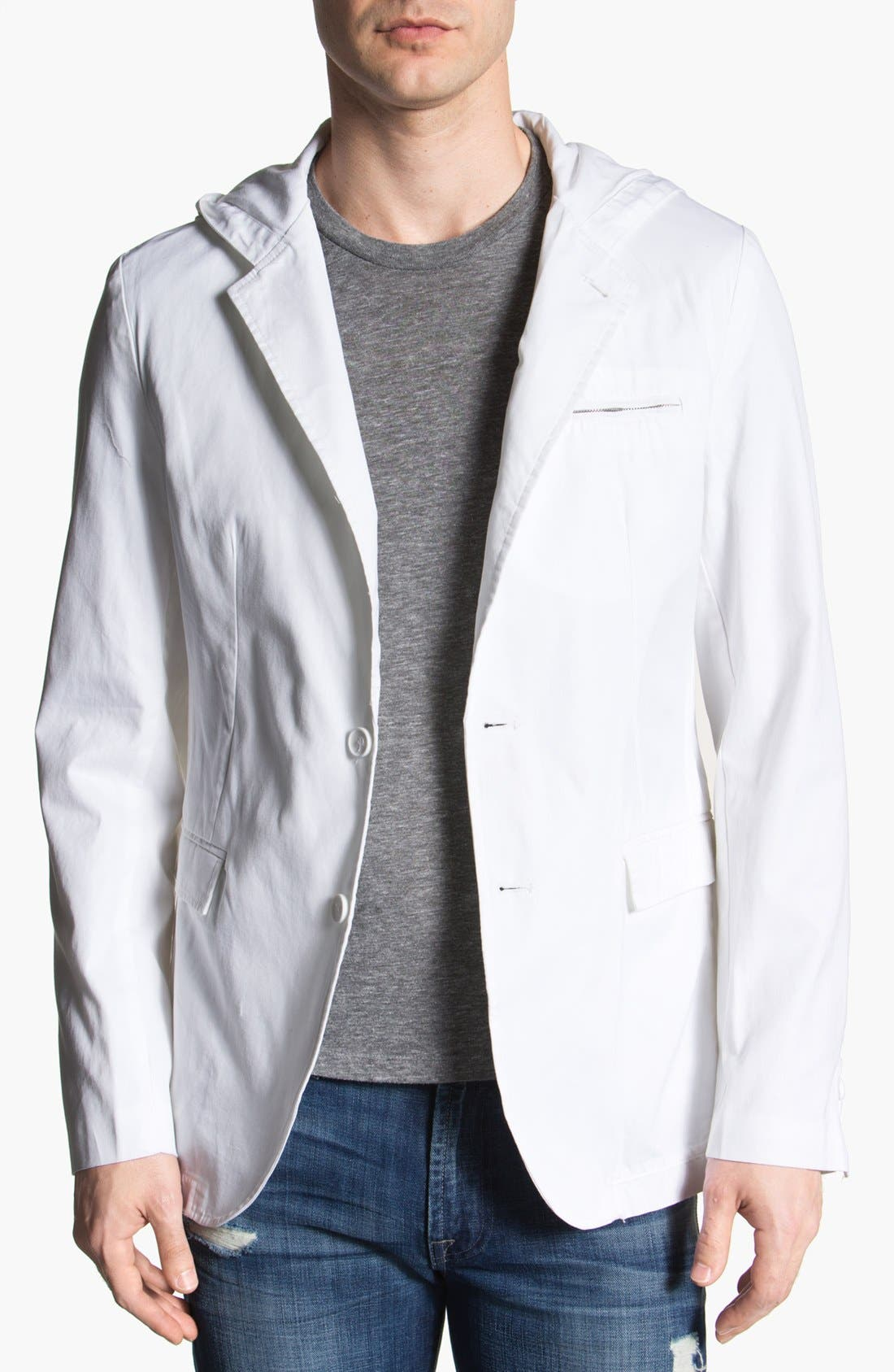 Main Image - Threads for Thought Hooded Blazer