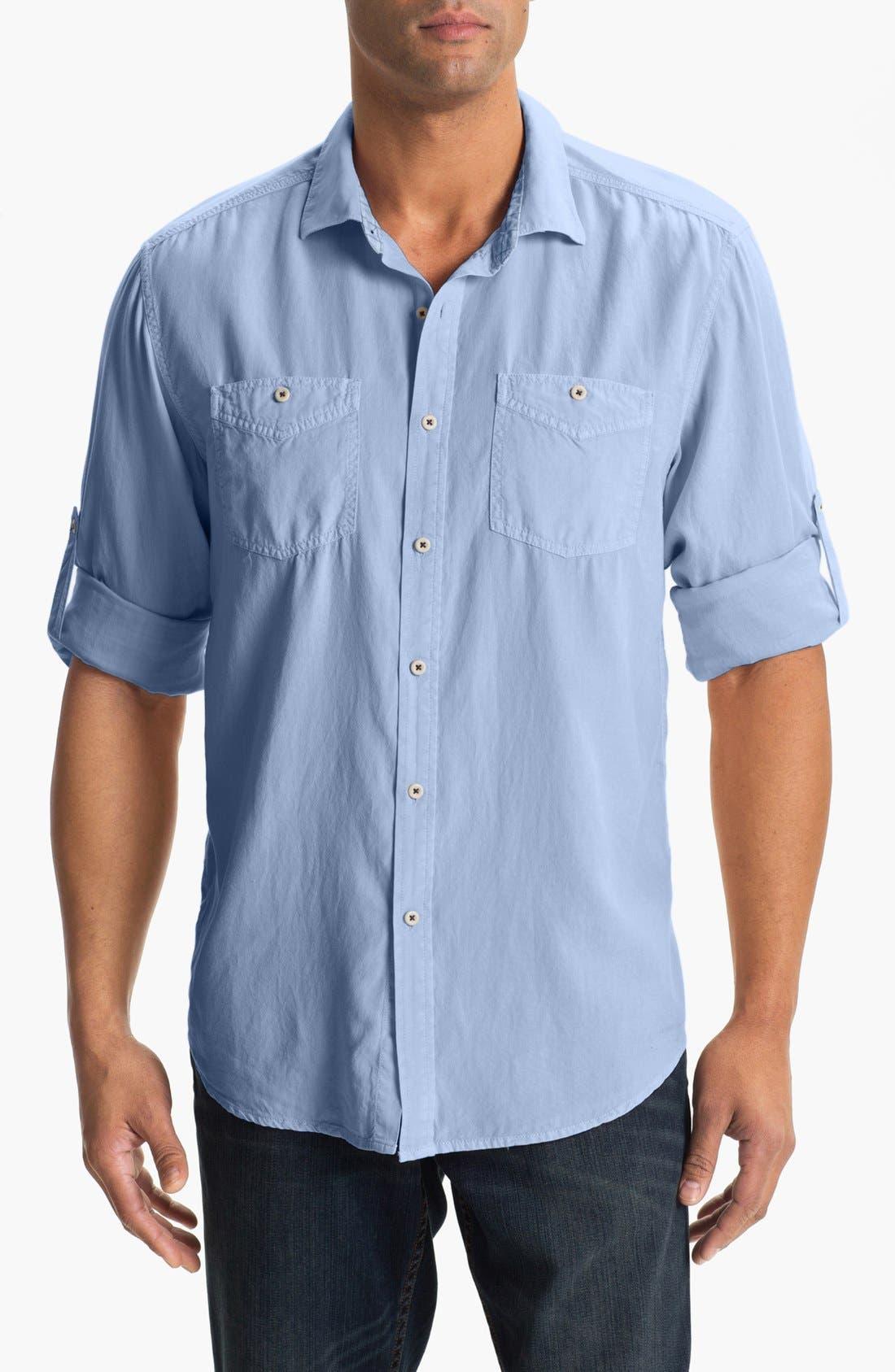 Alternate Image 1 Selected - Tommy Bahama 'Sand City' Sport Shirt (Big & Tall)