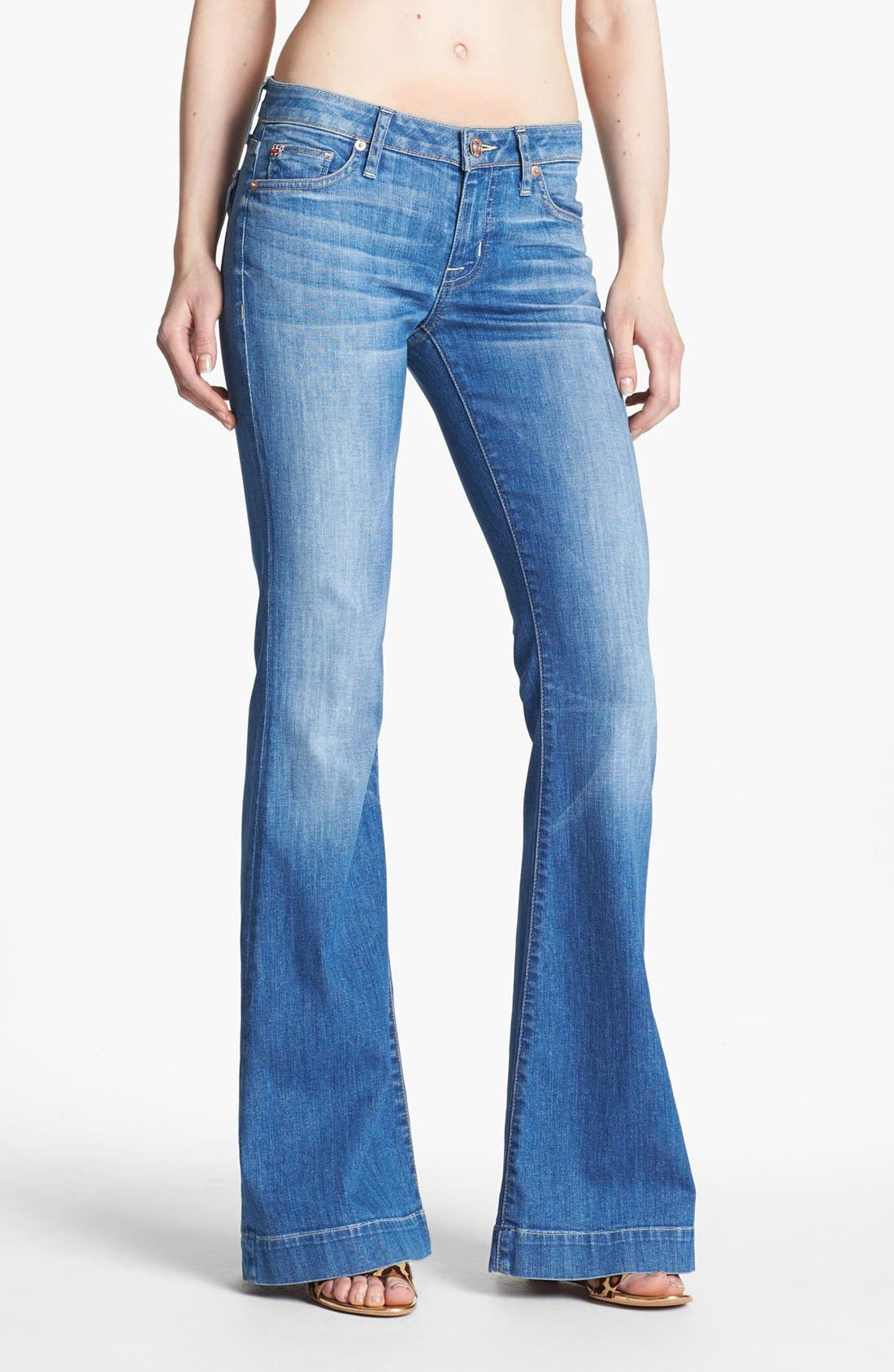 Main Image - Hudson Jeans 'Ferris' Flare Leg Jeans (Polly)