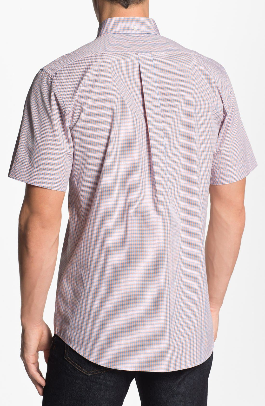Alternate Image 2  - Façonnable Club Fit Short Sleeve Sport Shirt