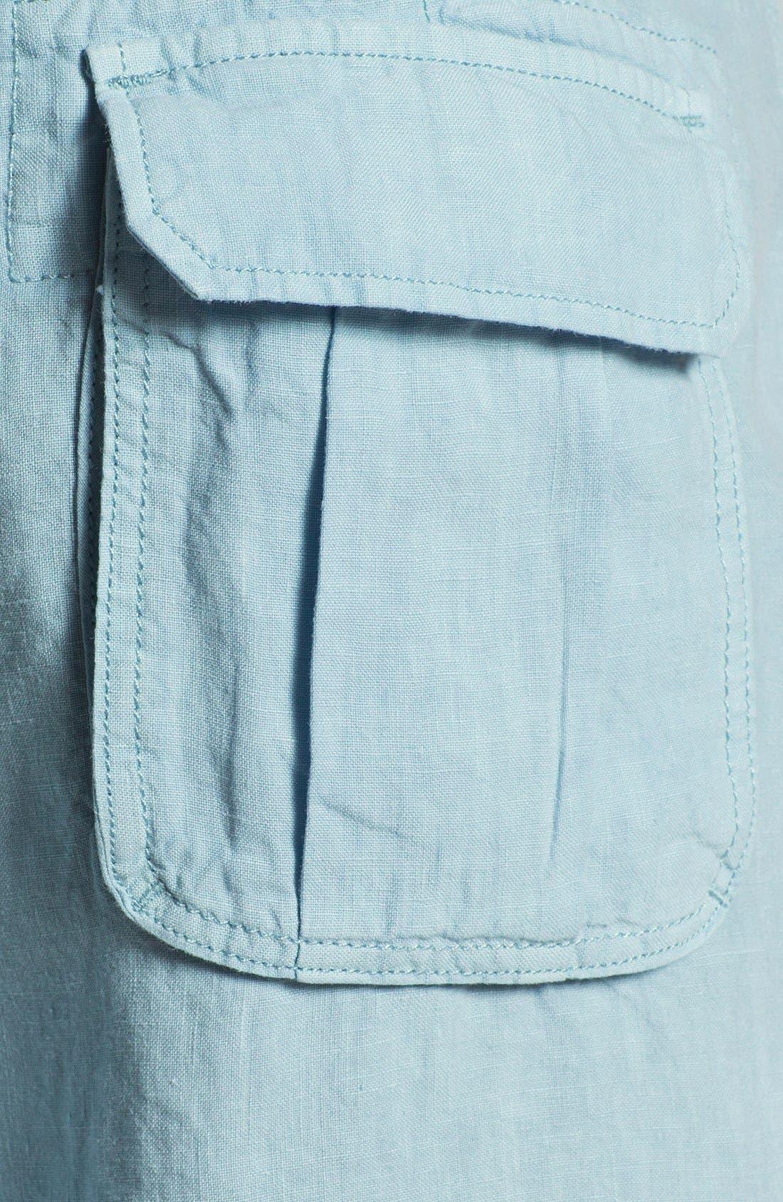 Alternate Image 3  - Lucky Brand 'Vermont' Linen Shorts