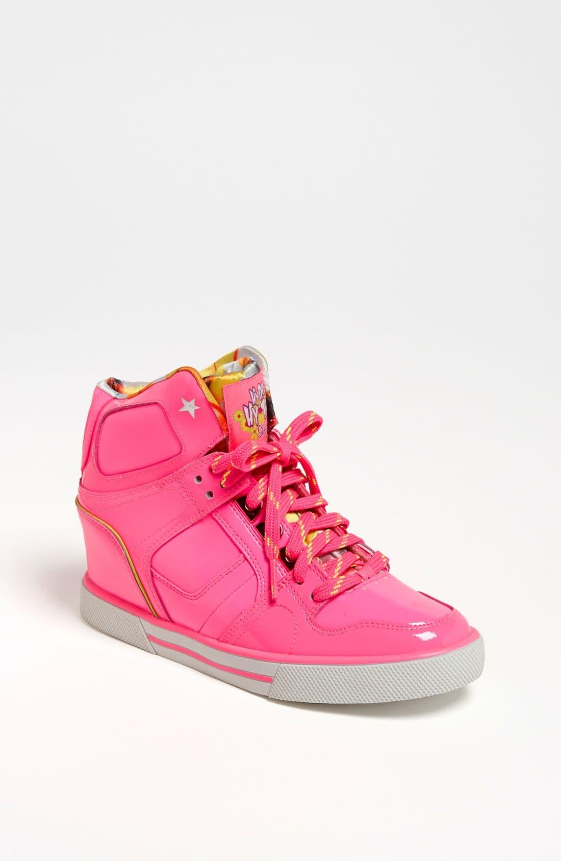Main Image - SKECHERS 'Hydee Hytop Cha-Ching' Sneaker (Toddler, Little Kid & Big Kid)