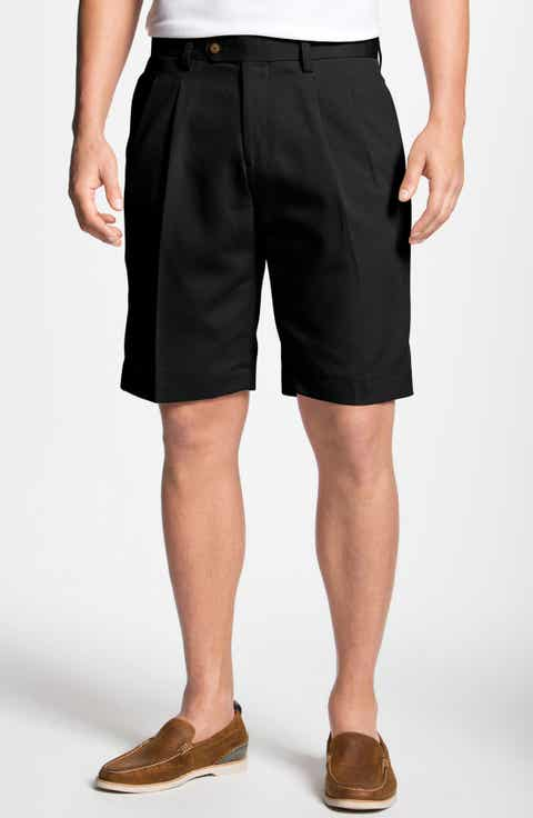 Cutter   Buck Double Pleated Microfiber Twill Shorts