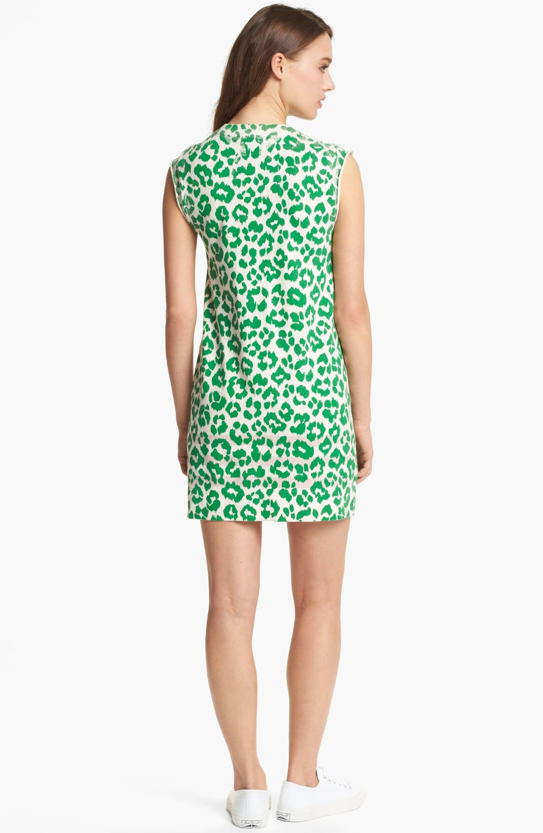 Alternate Image 2  - MARC BY MARC JACOBS 'Dita the Cheetah' Pima Cotton Shift Dress