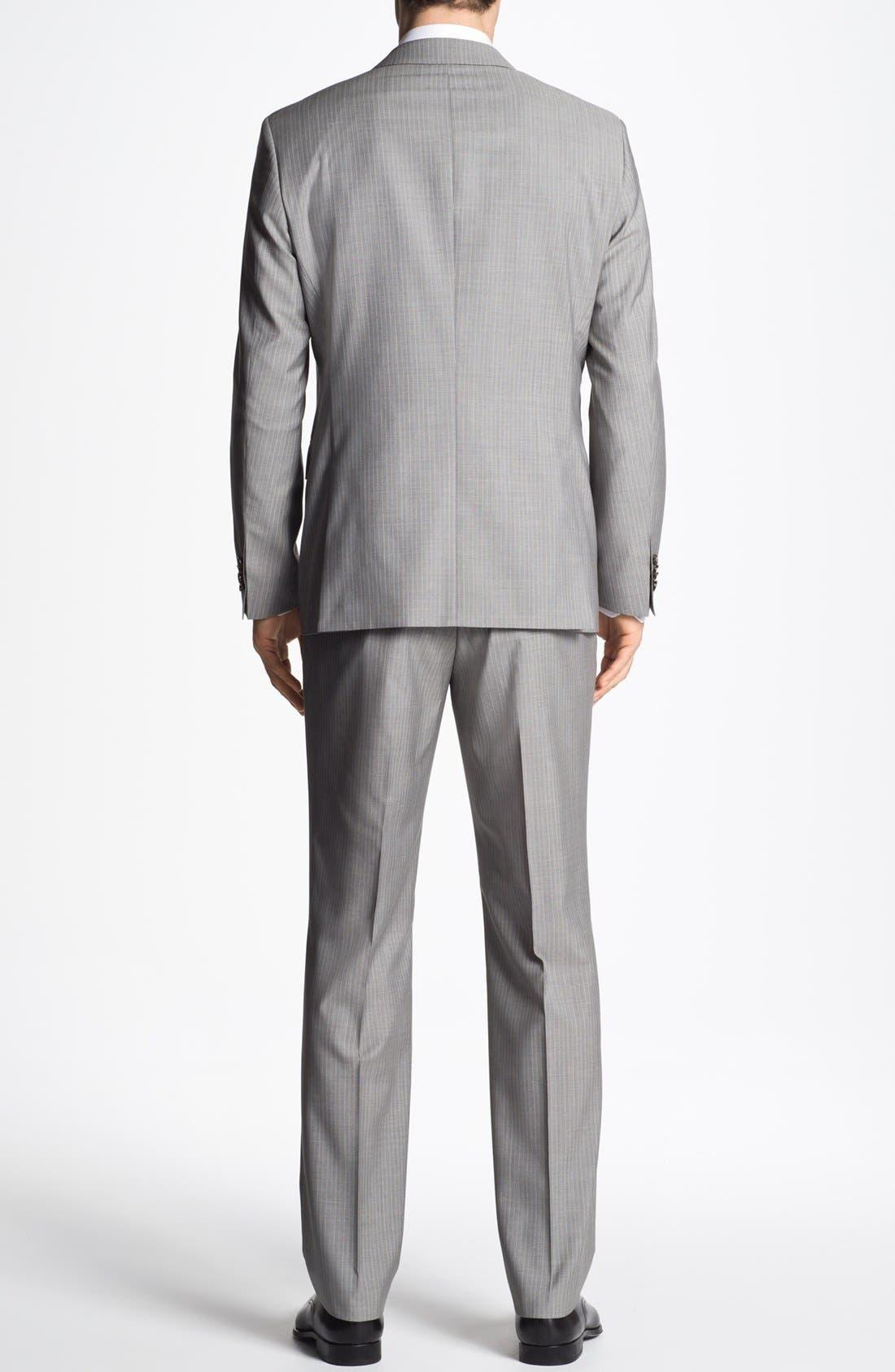 Alternate Image 3  - BOSS HUGO BOSS 'The Sweet/Sharp' Trim Fit Stripe Suit