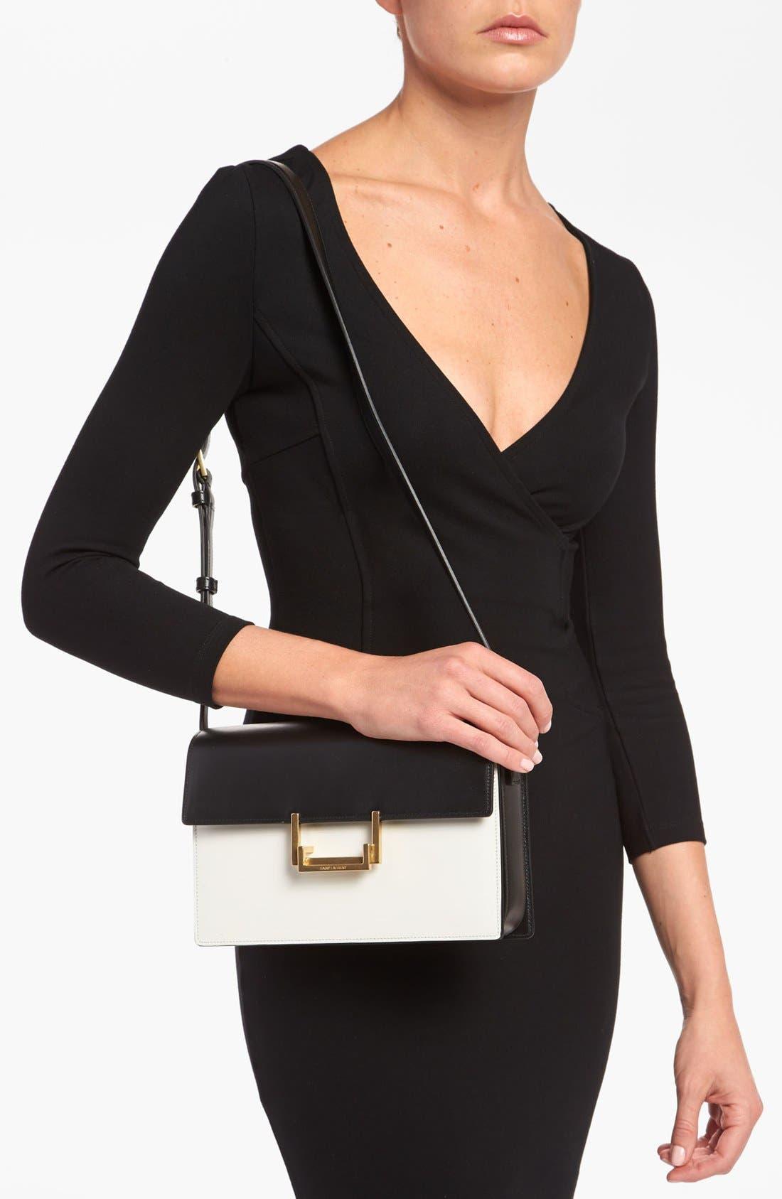 Alternate Image 2  - Saint Laurent 'Lulu Classique' Leather Shoulder Bag