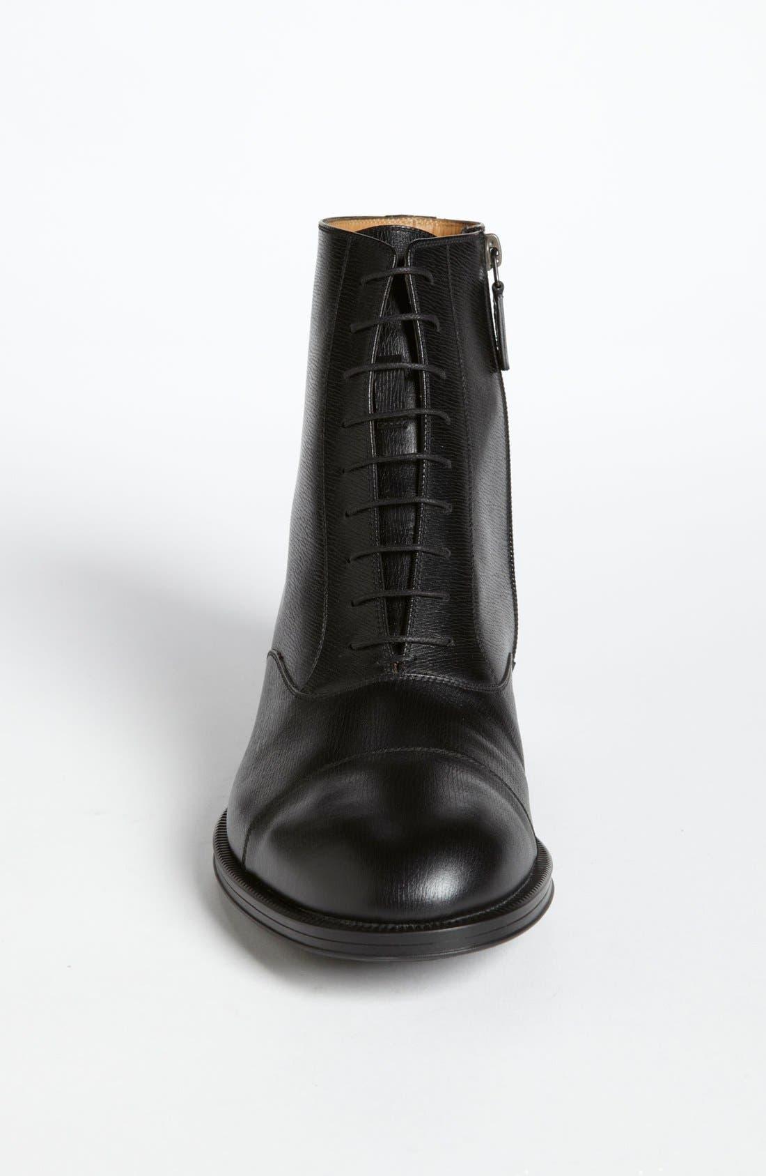Alternate Image 3  - Gucci 'Handir' Cap Toe Boot