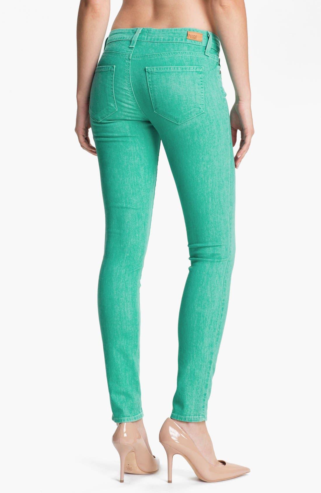 Alternate Image 2  - Paige Denim 'Verdugo' Skinny Stretch Denim Jeans (Spearmint)