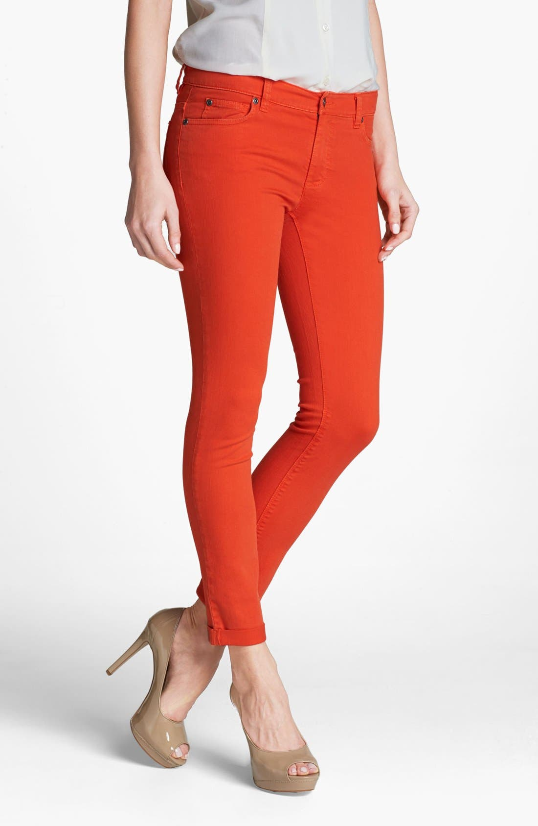 Alternate Image 1 Selected - Two by Vince Camuto Twill Jeans
