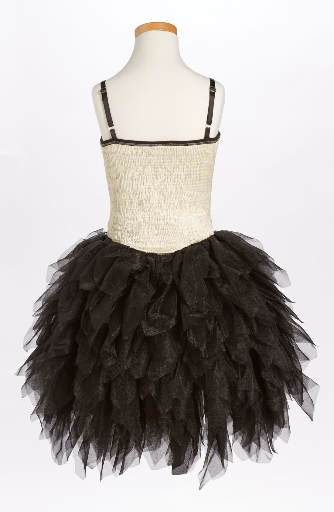 Alternate Image 2  - Ooh! La, La! Couture 'Wow - Metallic' Dress (Big Girls) (Online Only)