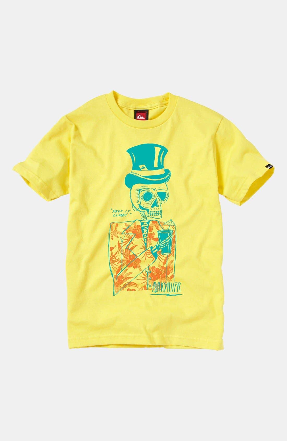 Main Image - Quiksilver 'Tops' T-Shirt (Big Boys)