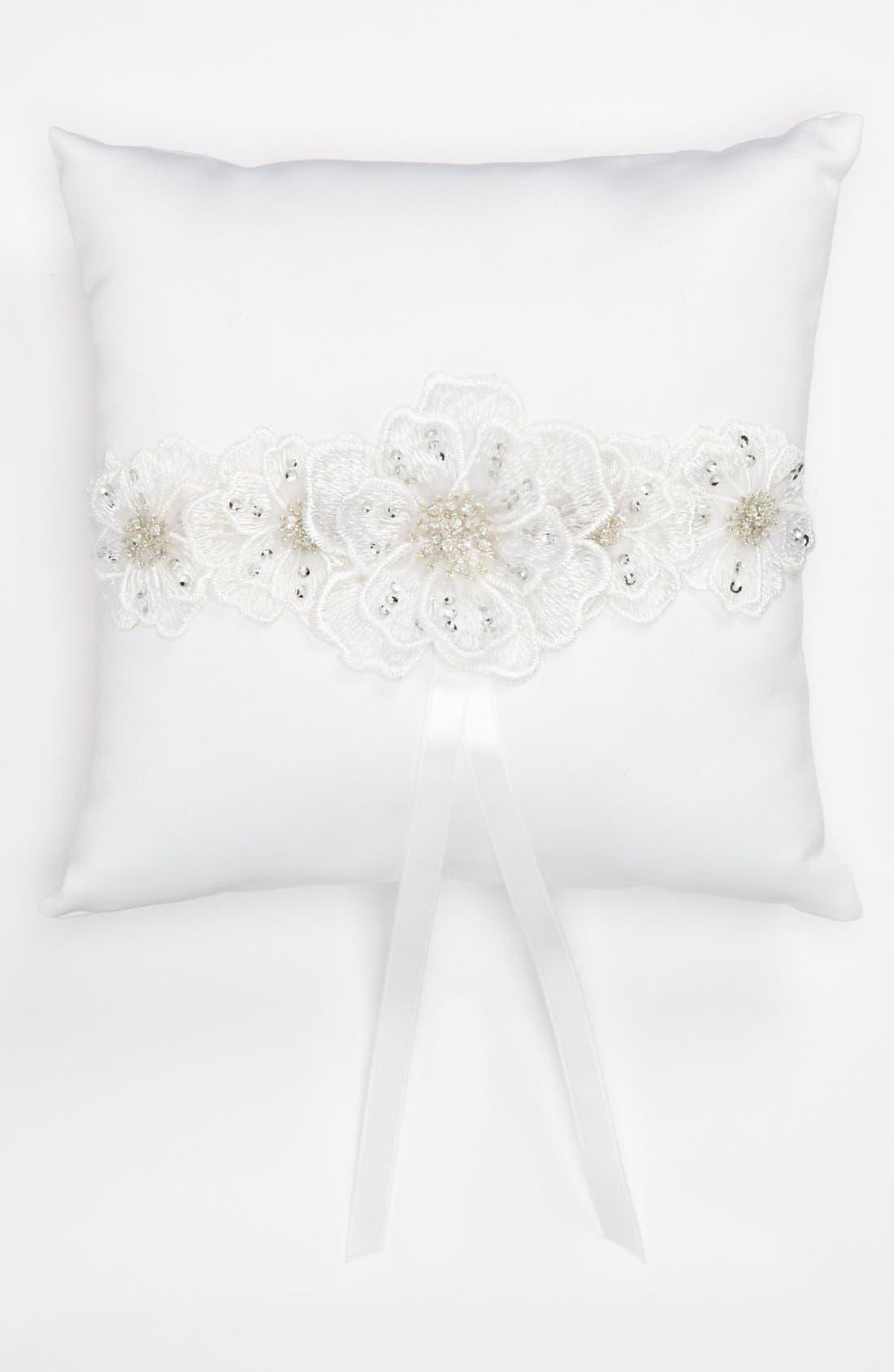 Alternate Image 1 Selected - Andrea's Beau Ring Bearer Pillow