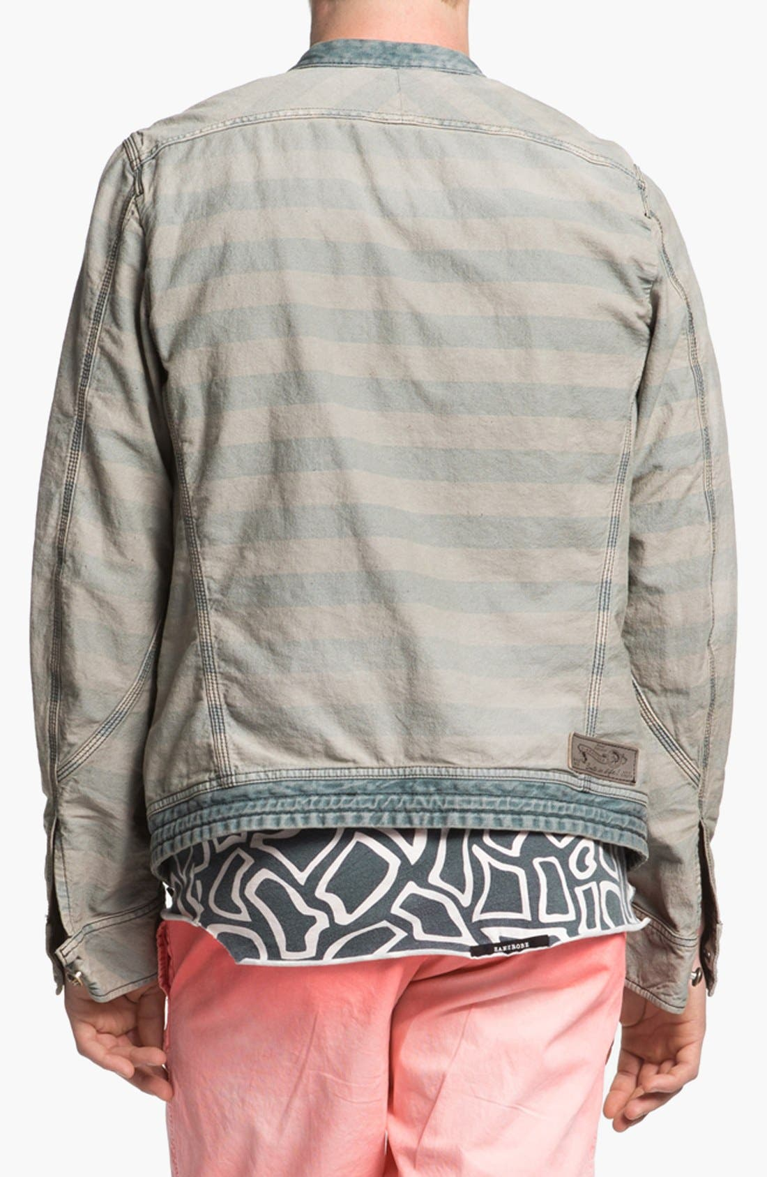 Alternate Image 2  - DIESEL® 'Meeby' Stripe Jacket