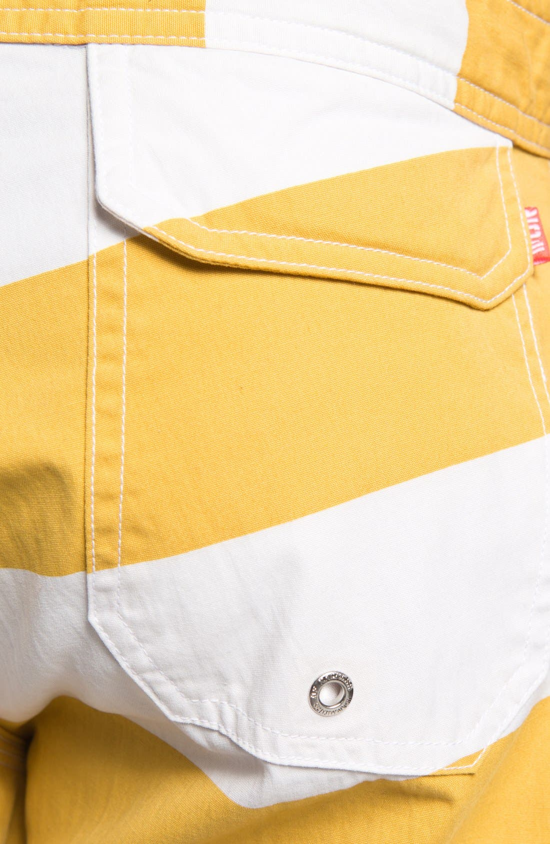 Alternate Image 3  - Warriors of Radness Classic Stripe Board Shorts