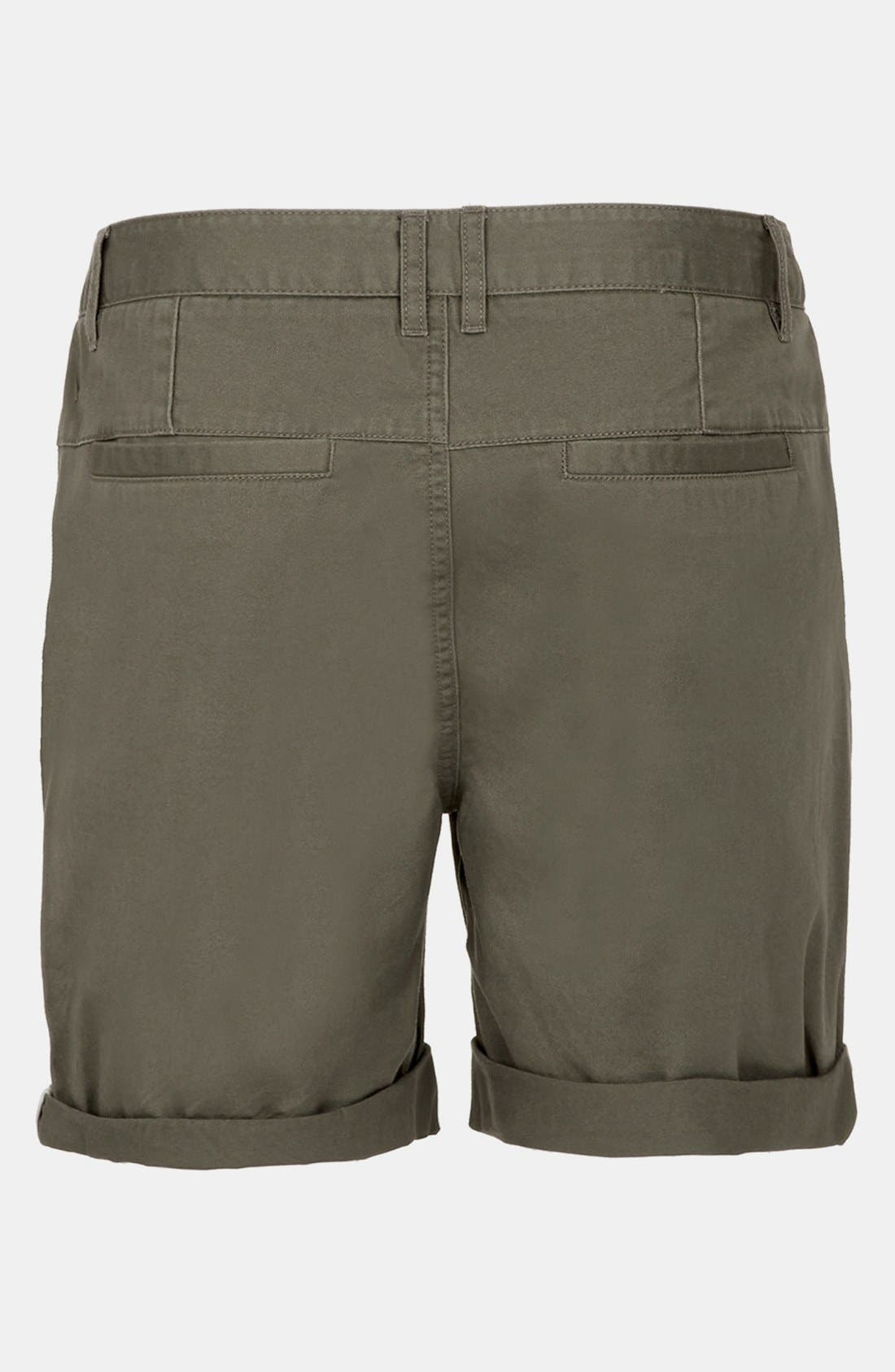 Alternate Image 2  - Topman Cotton Shorts