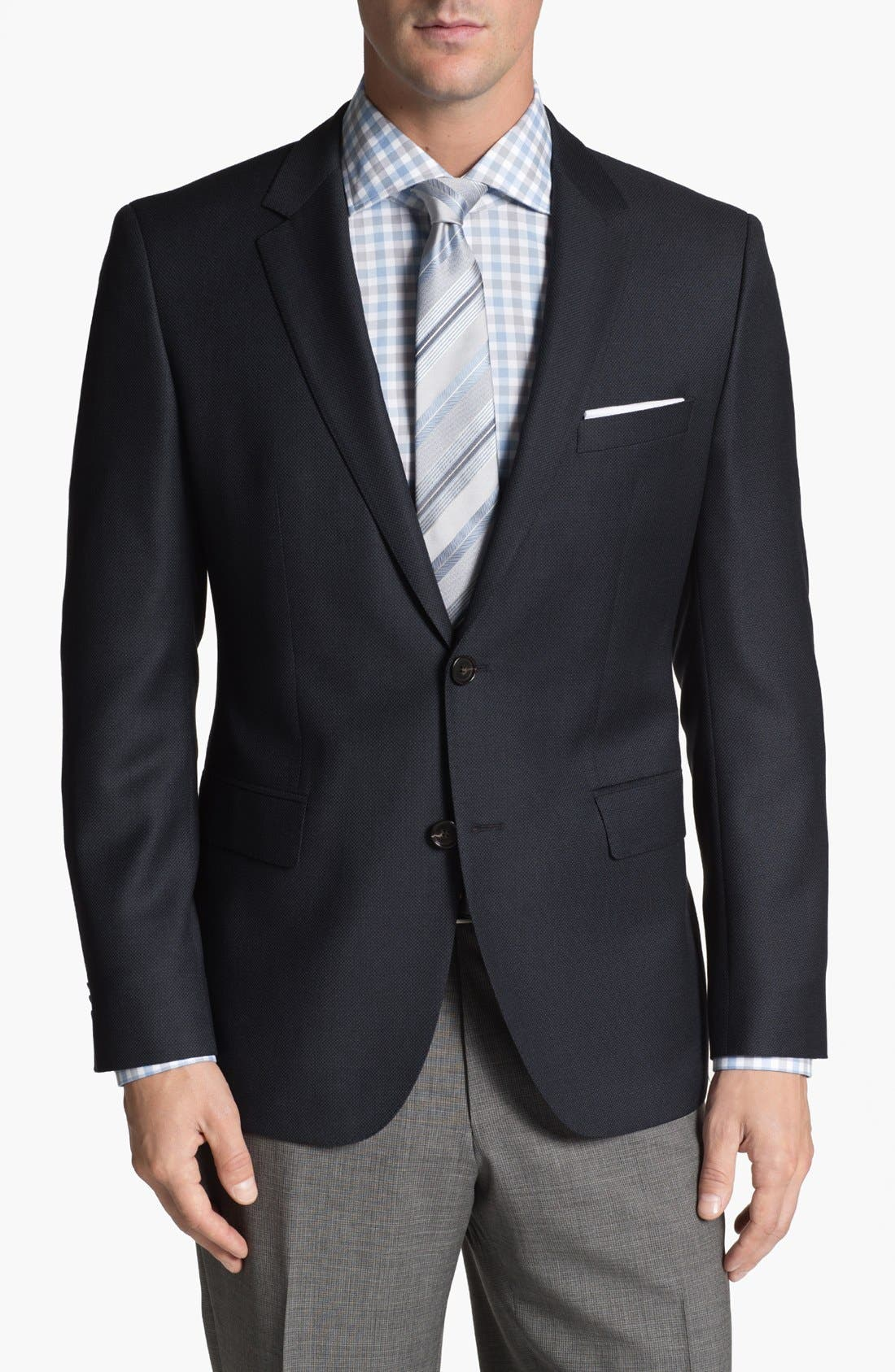 Alternate Image 1 Selected - BOSS HUGO BOSS 'James' Trim Fit Wool Blazer