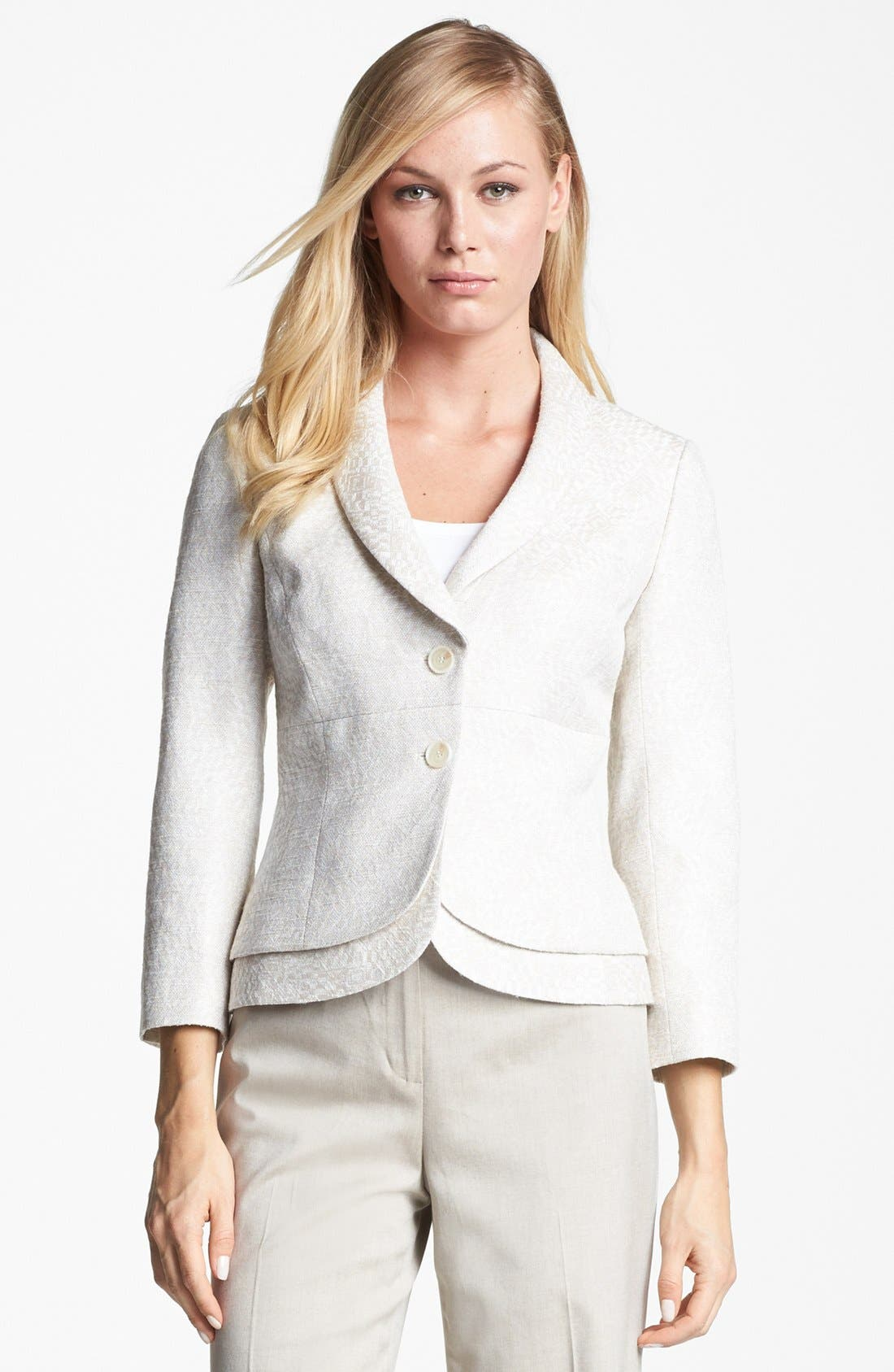 Alternate Image 1 Selected - Classiques Entier® 'Ghizor Weave' Jacket