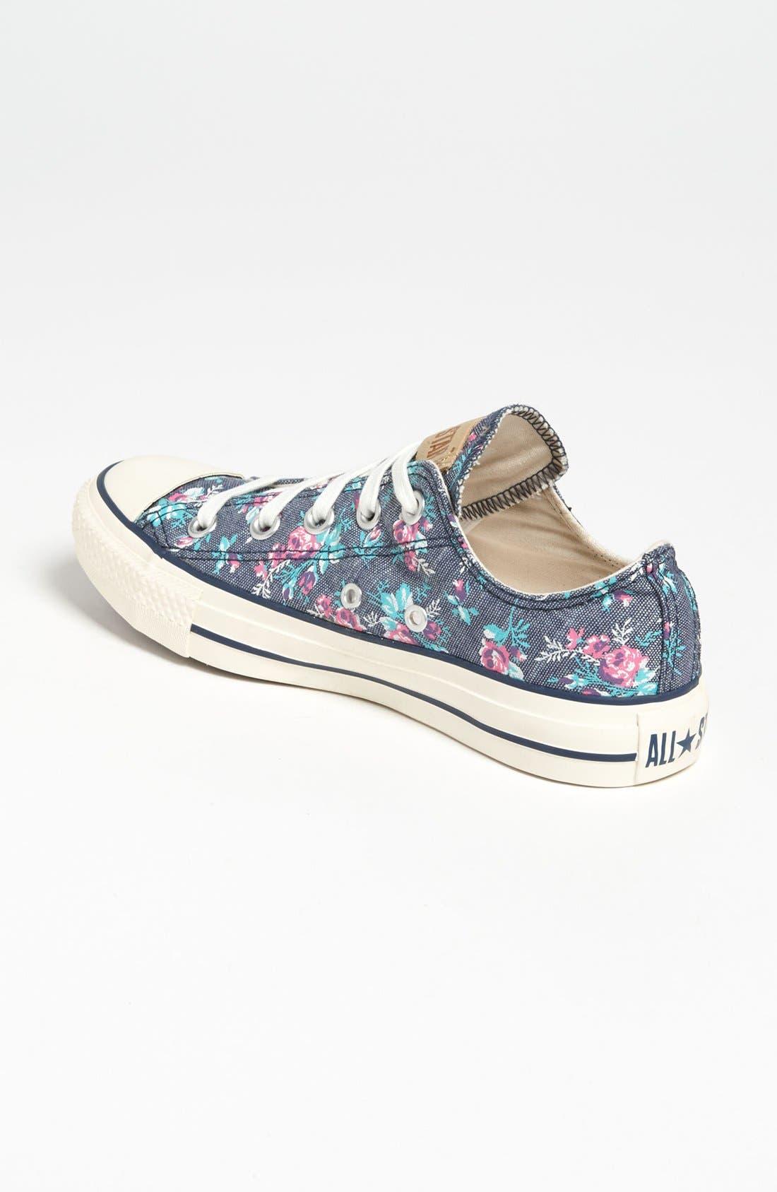 Alternate Image 2  - Converse Chuck Taylor® All Star® Floral Sneaker (Women)