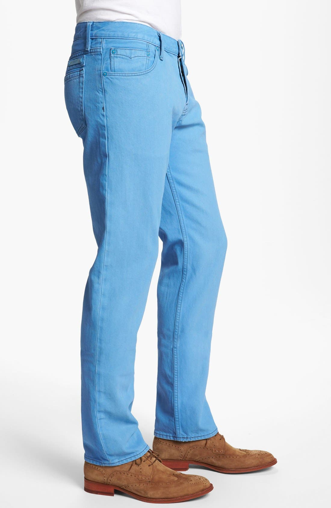 Alternate Image 3  - Burberry Brit 'Steadman' Straight Leg Jeans