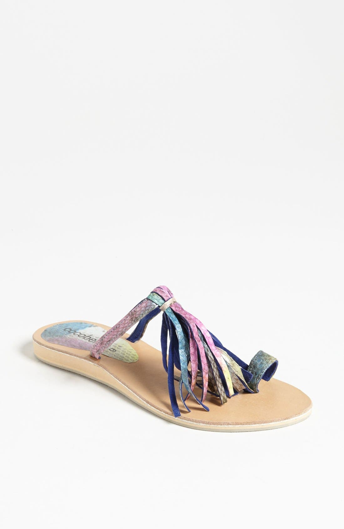 Alternate Image 1 Selected - Cocobelle Fringe Sandal