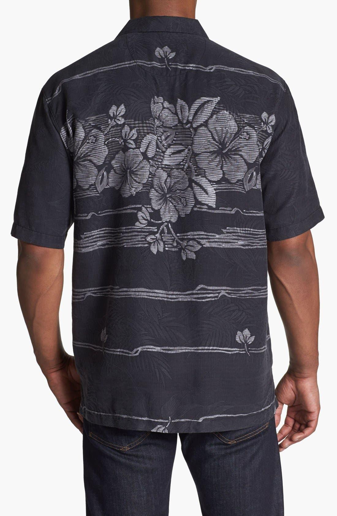 Alternate Image 2  - Tommy Bahama 'Hibiscus Fade Away' Campshirt