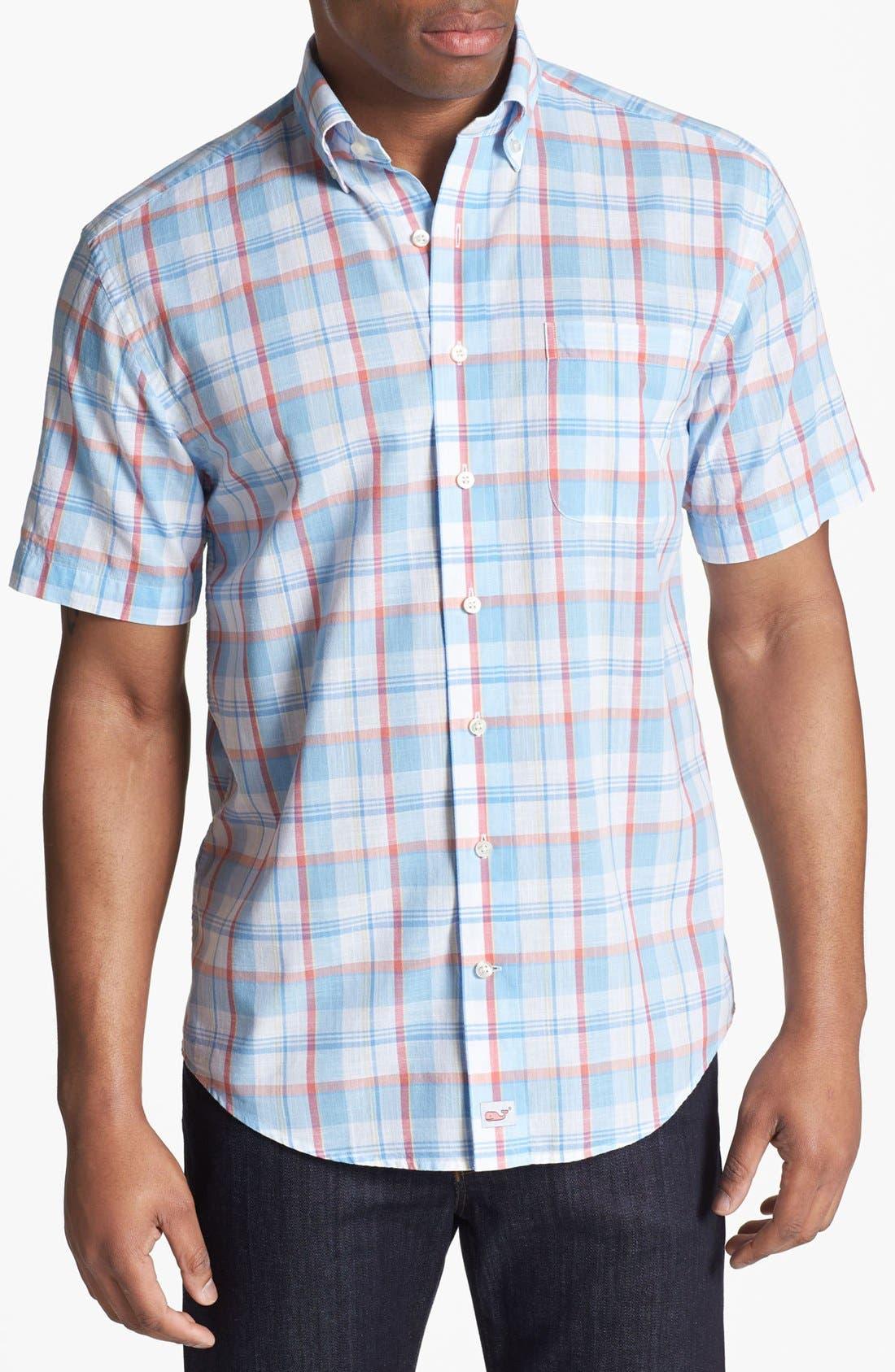Alternate Image 1 Selected - Vineyard Vines 'Murray' Short Sleeve Sport Shirt