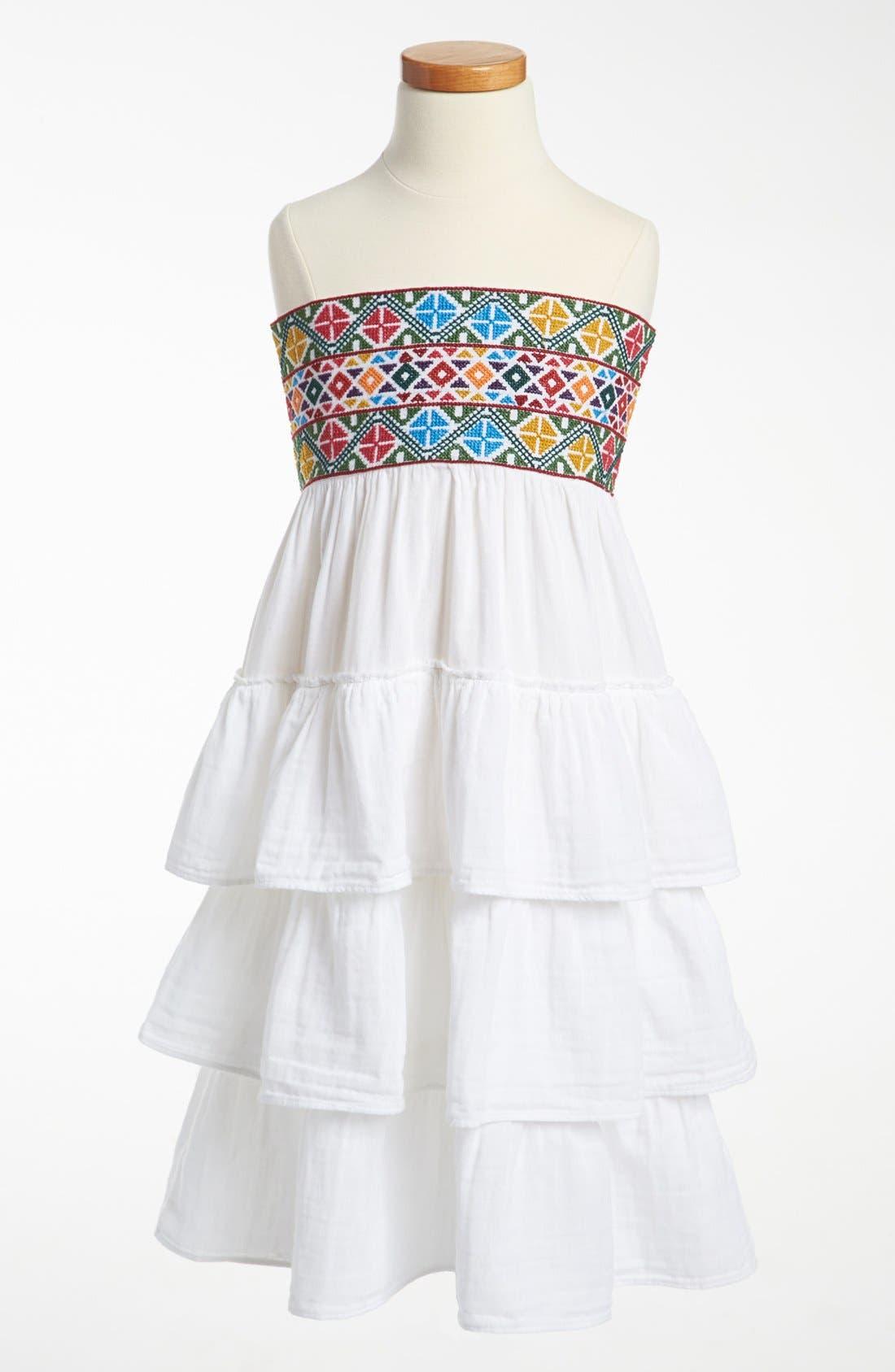 Main Image - Peek 'Maya' Dress (Toddler, Little Girls & Big Girls)