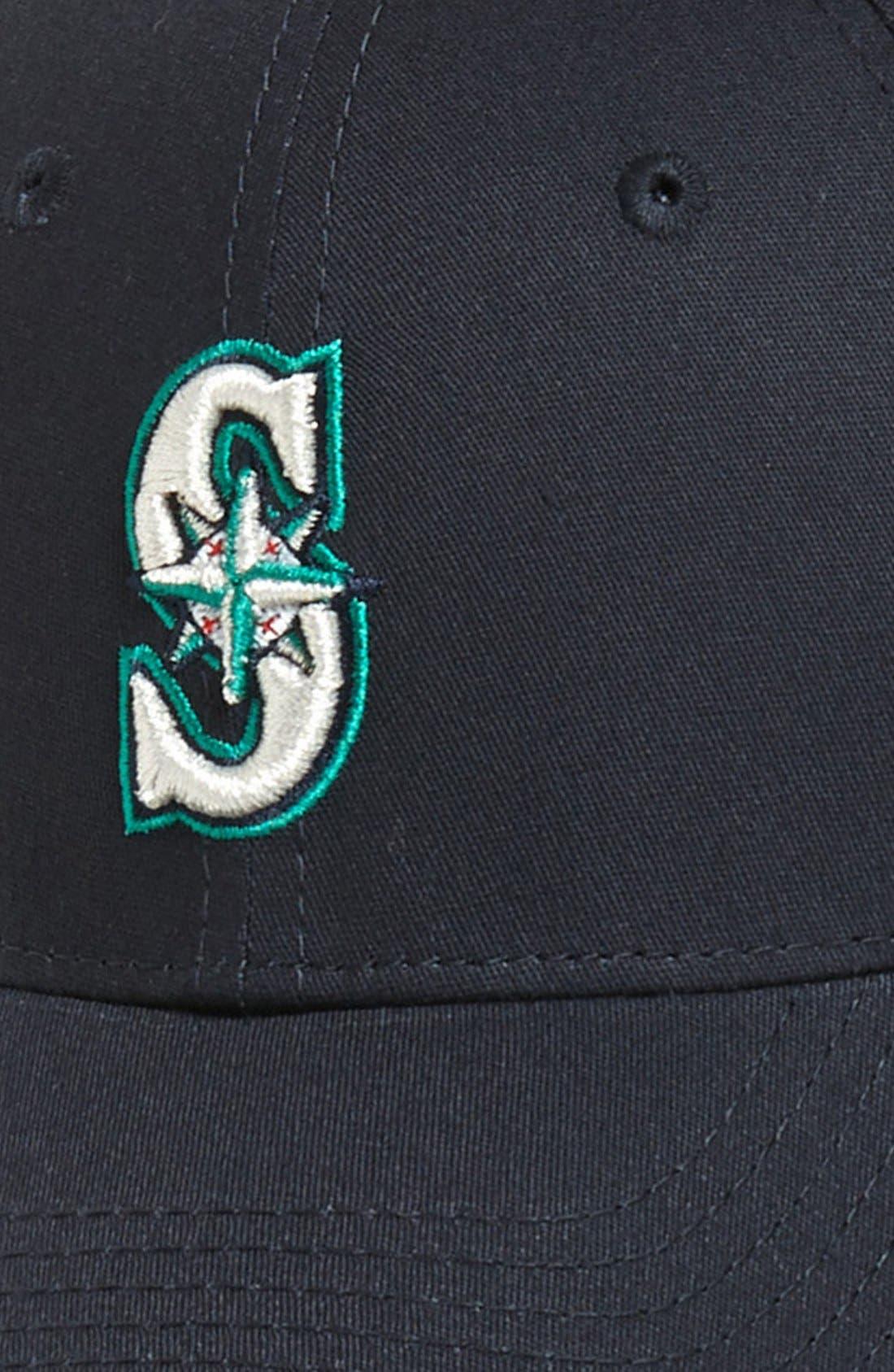 Alternate Image 3  - New Era Cap 'Seattle Mariners - Tie Breaker' Baseball Cap (Big Boys)