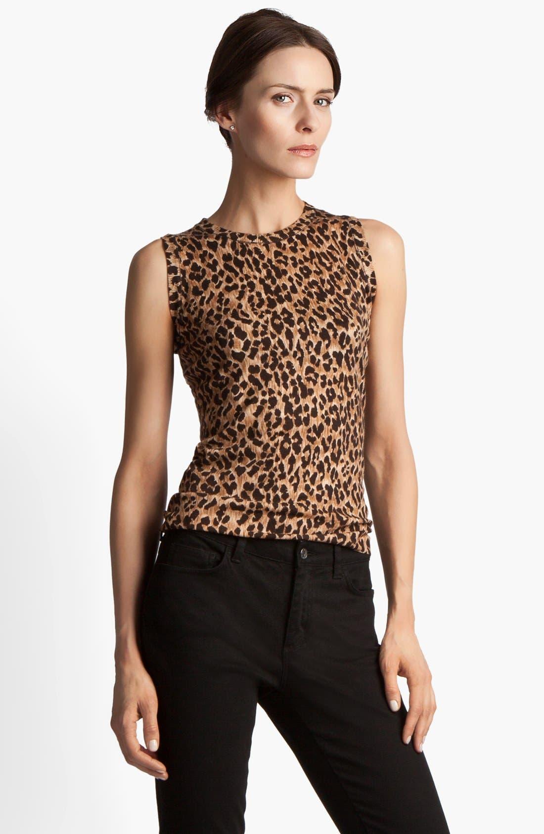 Main Image - Dolce&Gabbana Extra Fine Wool Shell