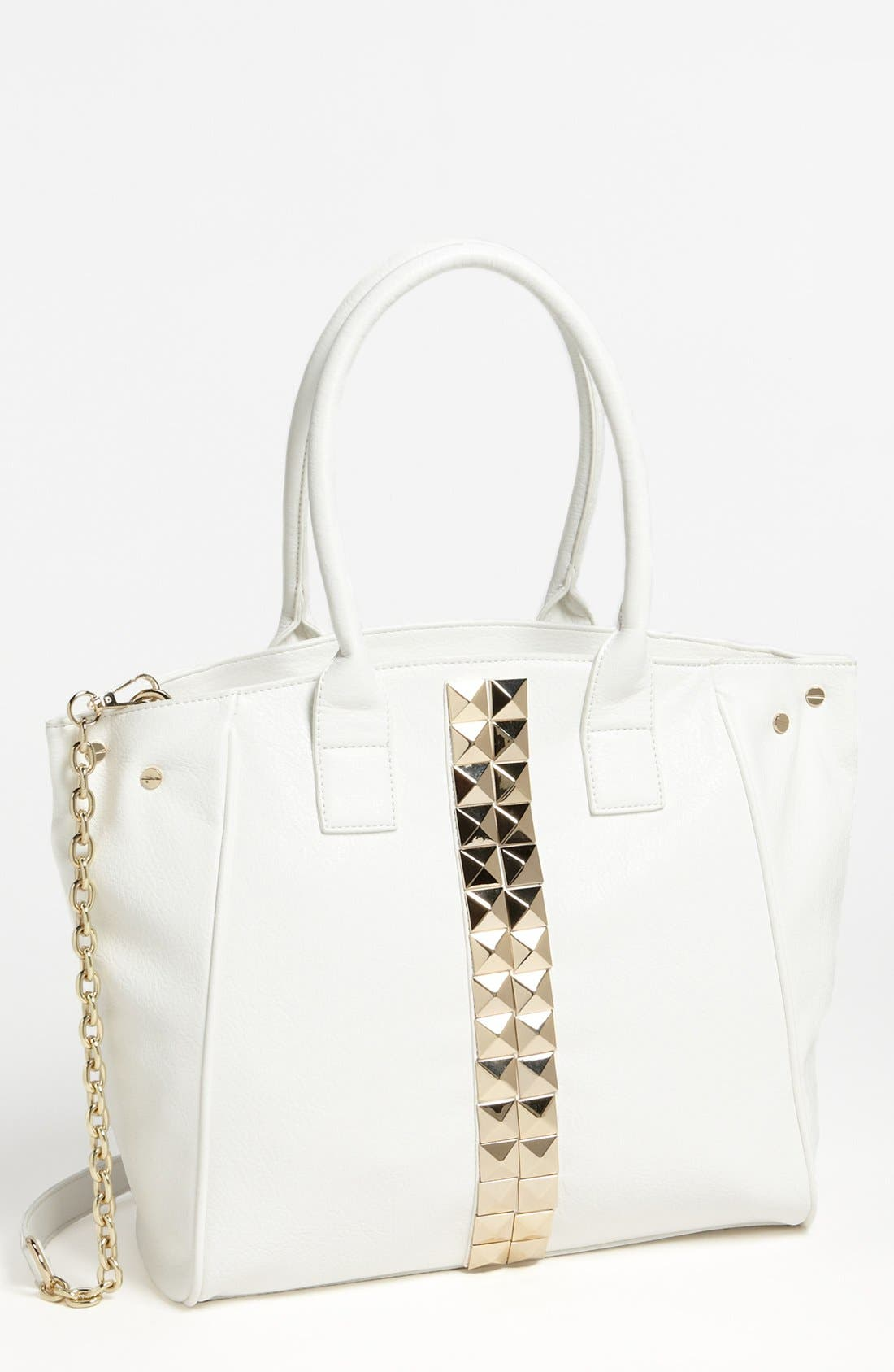 Alternate Image 1 Selected - Izzy & Ali 'Connie' Faux Leather Tote