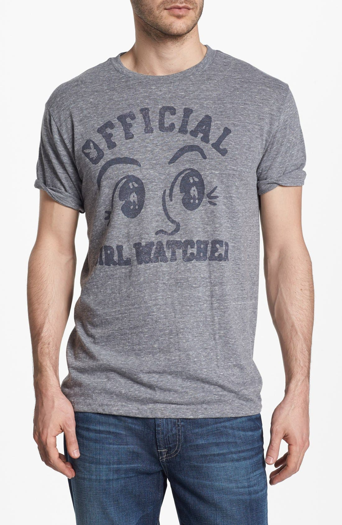 Alternate Image 1 Selected - PalmerCash 'Official Girl Watcher' Graphic T-Shirt