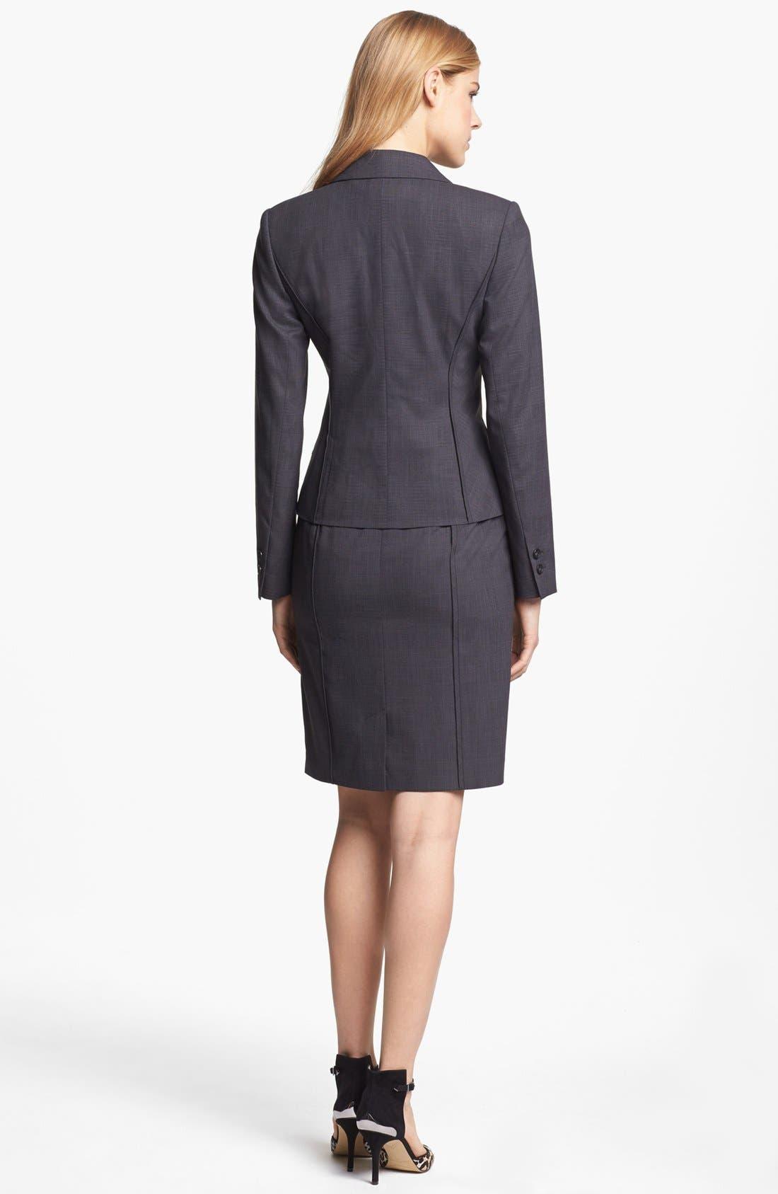 Alternate Image 4  - Halogen® Etched Plaid Suit Jacket