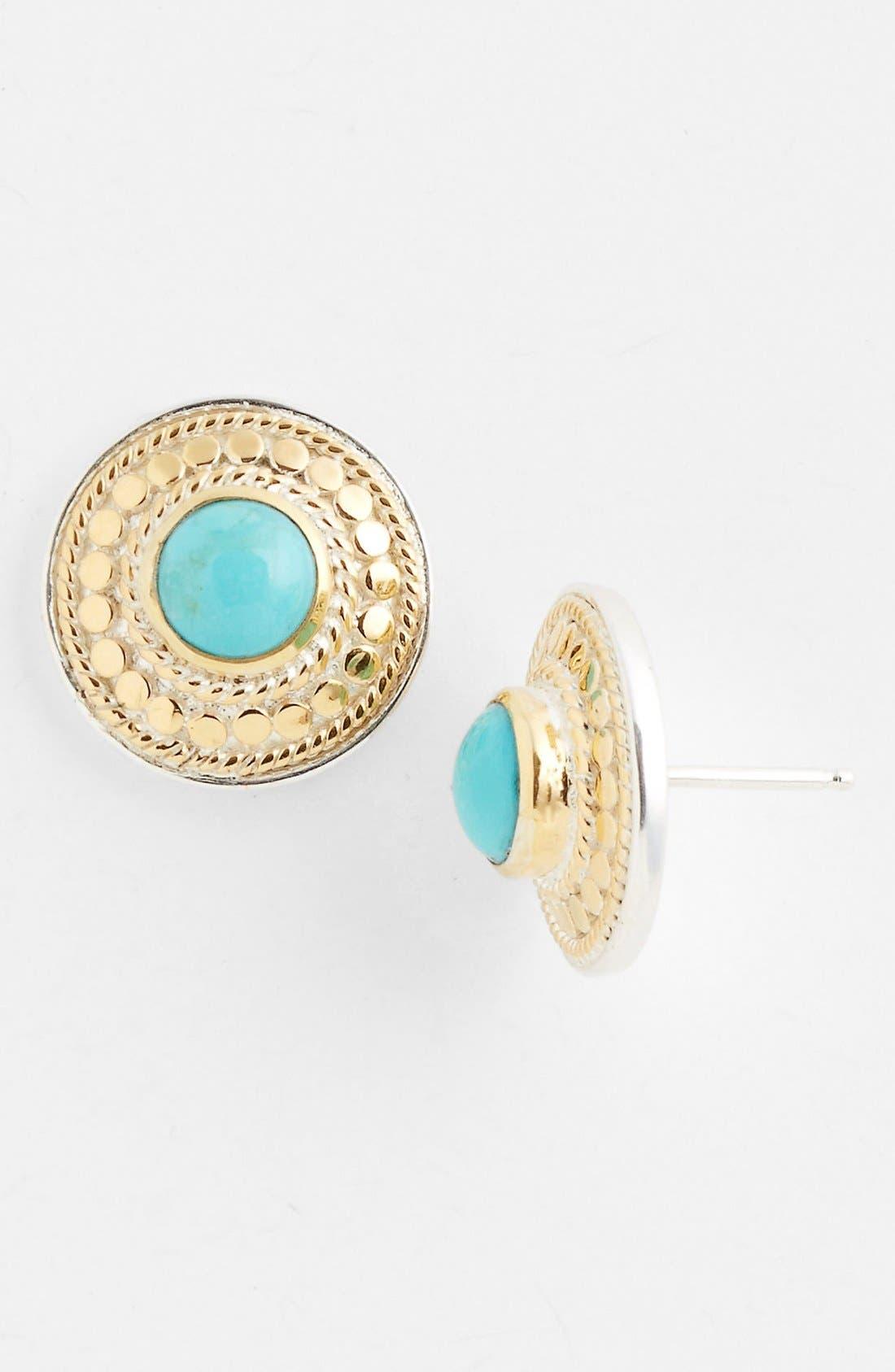 Alternate Image 1 Selected - Anna Beck 'Gili' Disk Stud Earrings