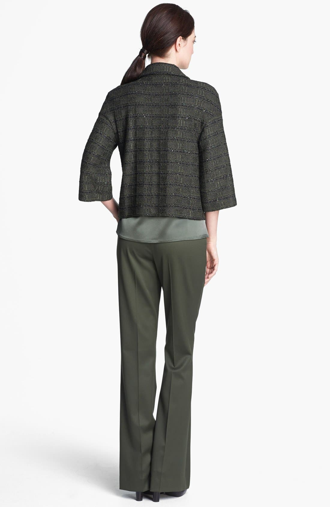 Alternate Image 3  - St. John Collection Sequin Tweed Knit Jacket
